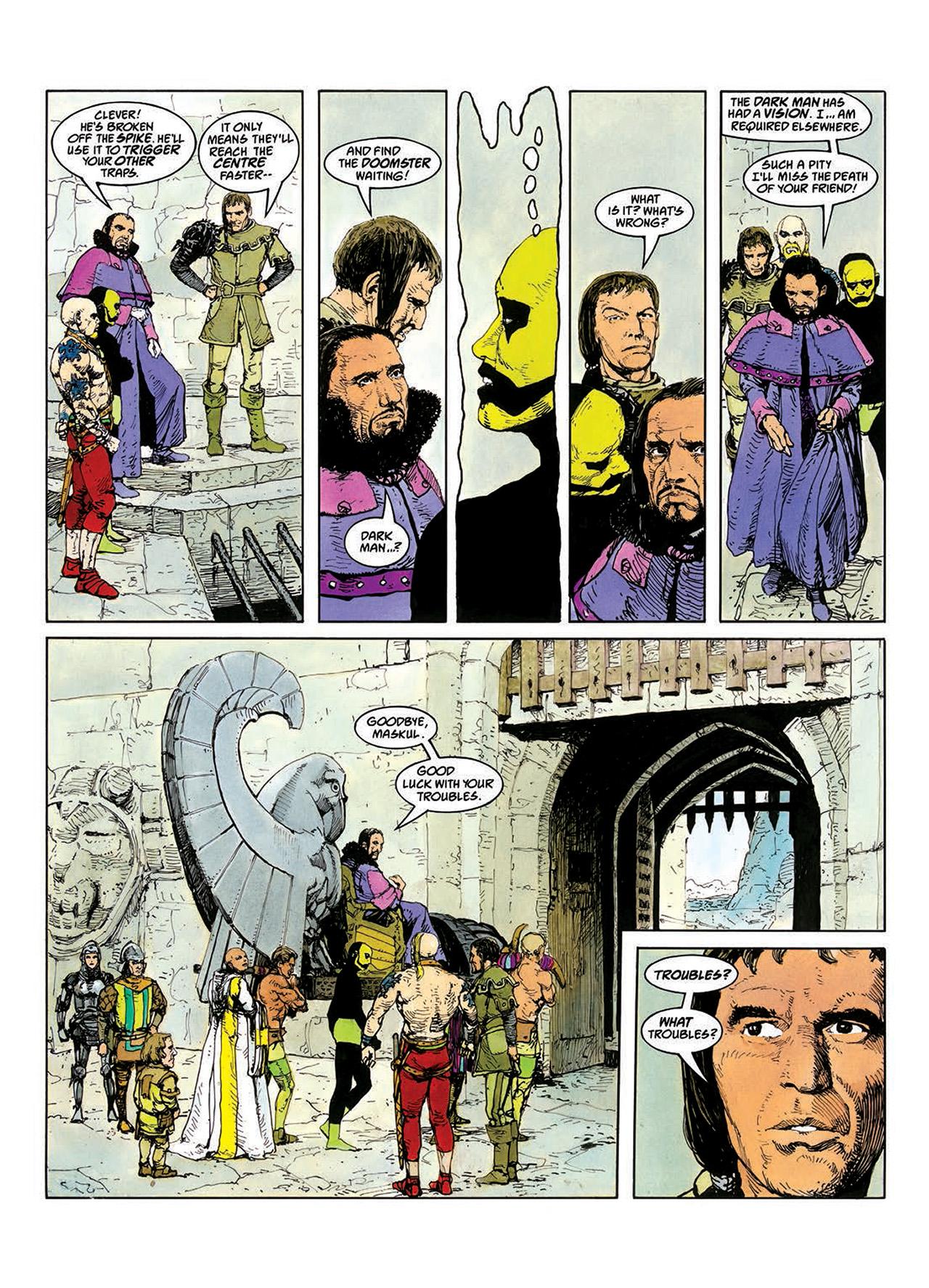 Read online Mazeworld comic -  Issue # TPB - 43