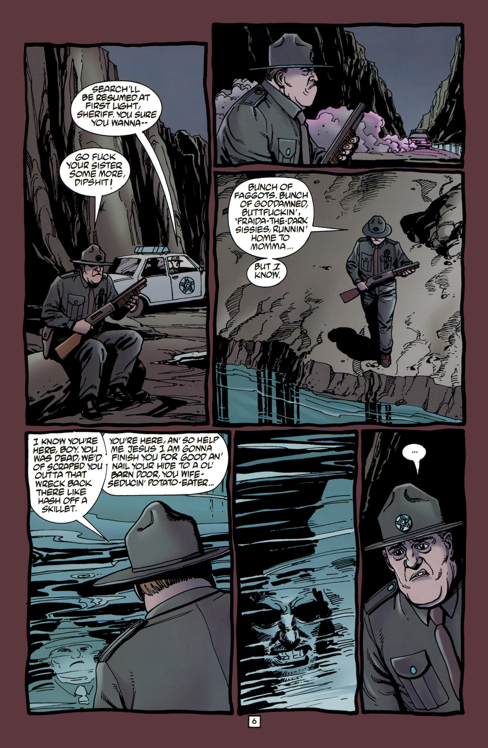 Read online Preacher Special: Cassidy : Blood and Whiskey comic -  Issue # Full - 8
