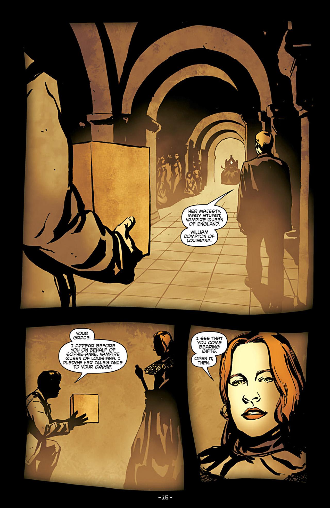 Read online True Blood (2012) comic -  Issue #3 - 17