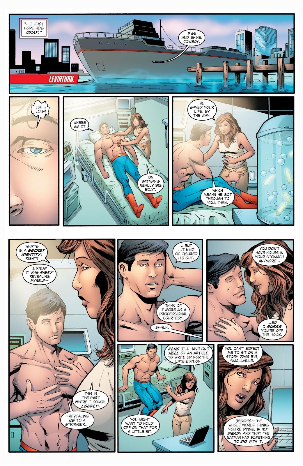 Read online Smallville Season 11 [II] comic -  Issue # TPB 2 - 105