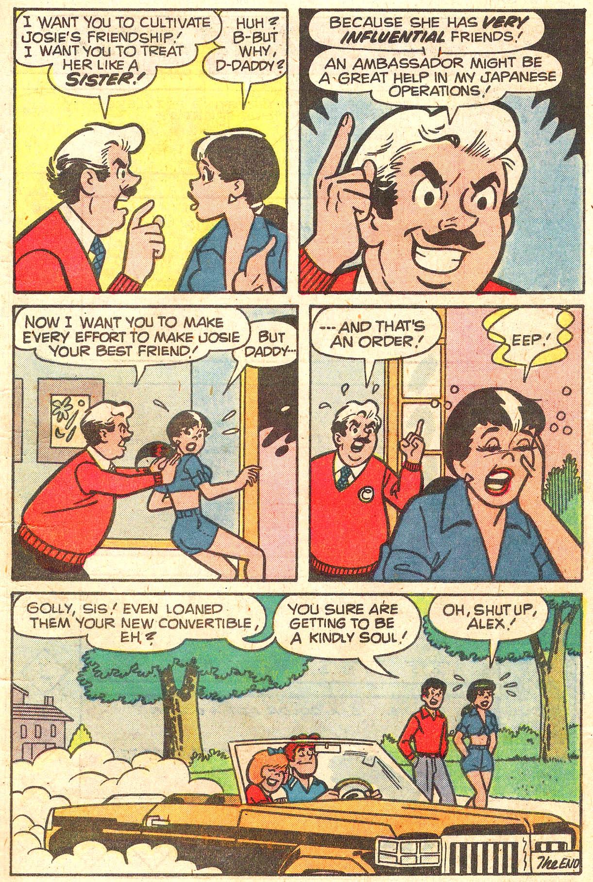 Read online She's Josie comic -  Issue #100 - 7