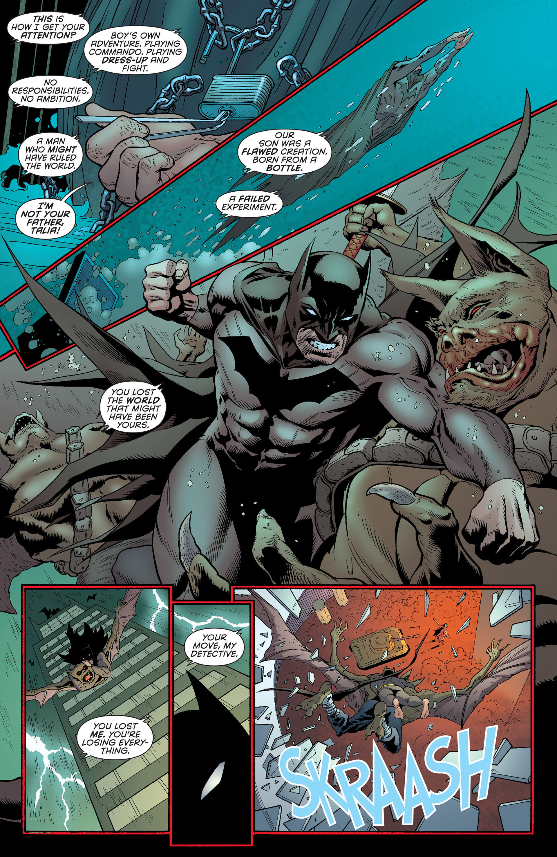 Read online Batman and Robin (2011) comic -  Issue #23 - Batman and Nightwing - 5