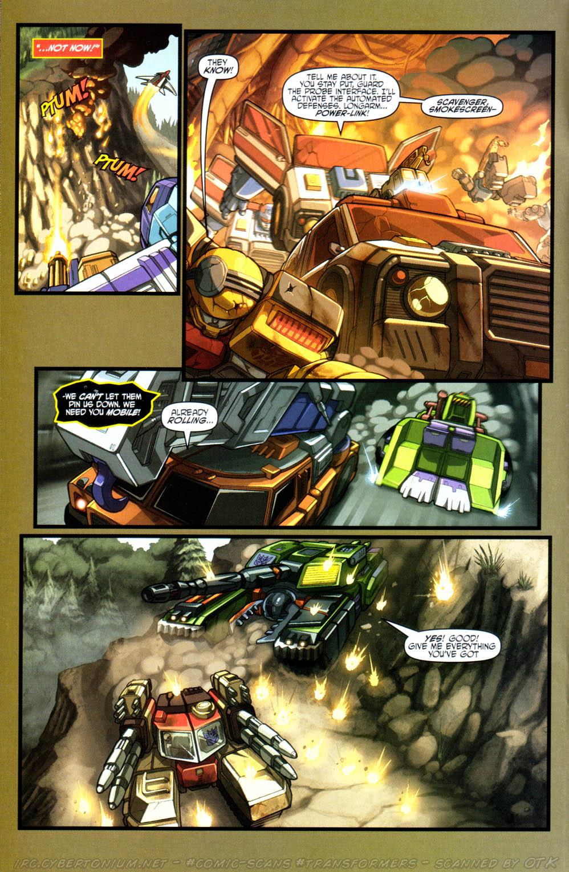 Read online Transformers Armada comic -  Issue #15 - 15
