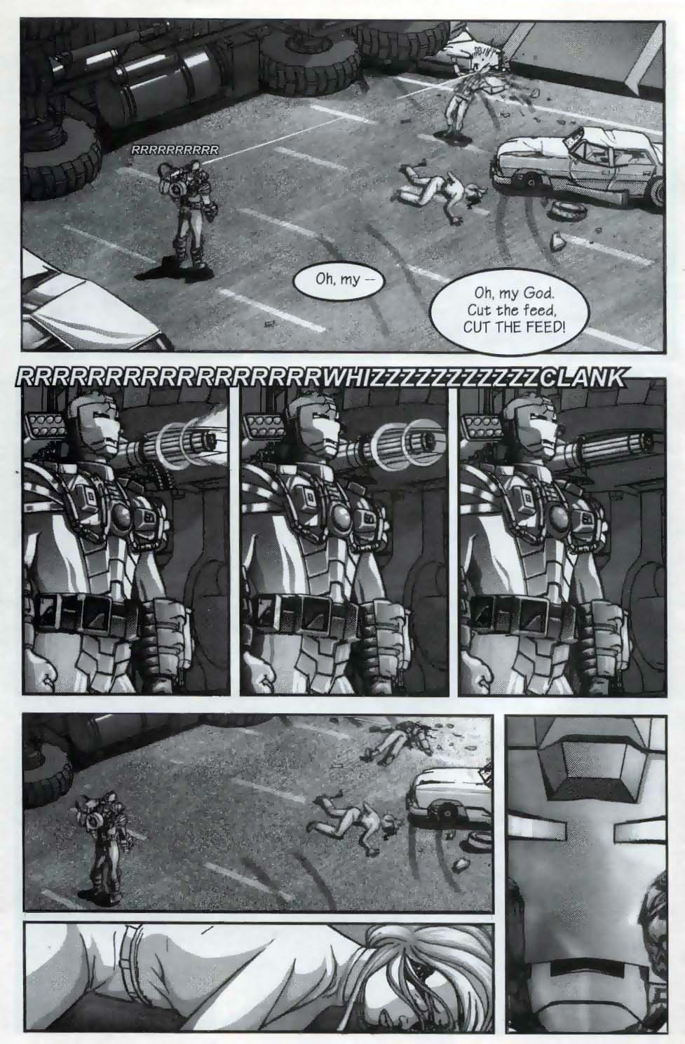 Read online U.S. War Machine comic -  Issue #1 - 22