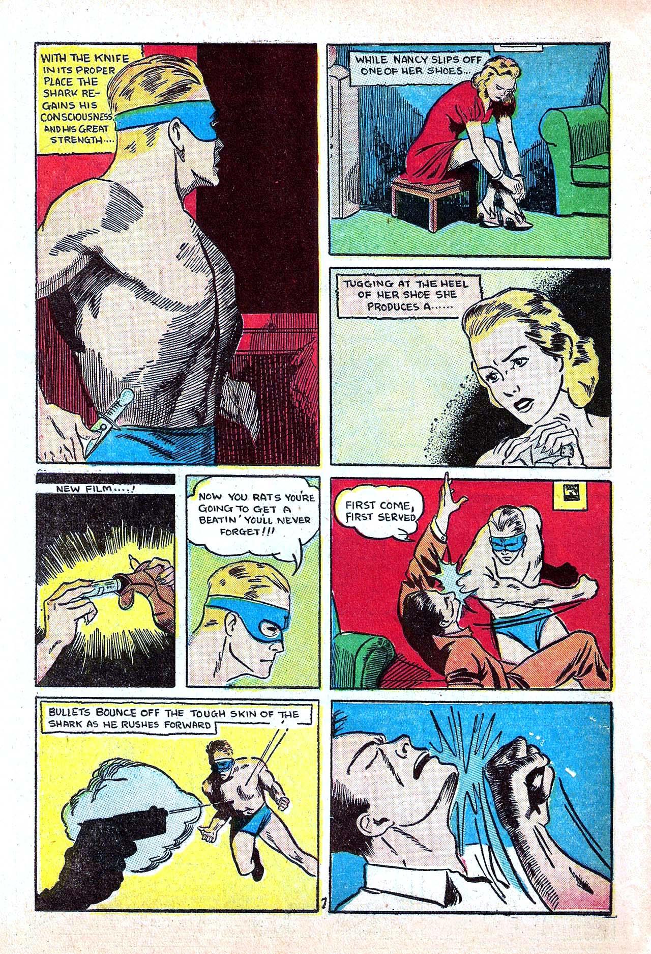 Read online Amazing Man Comics comic -  Issue #11 - 50