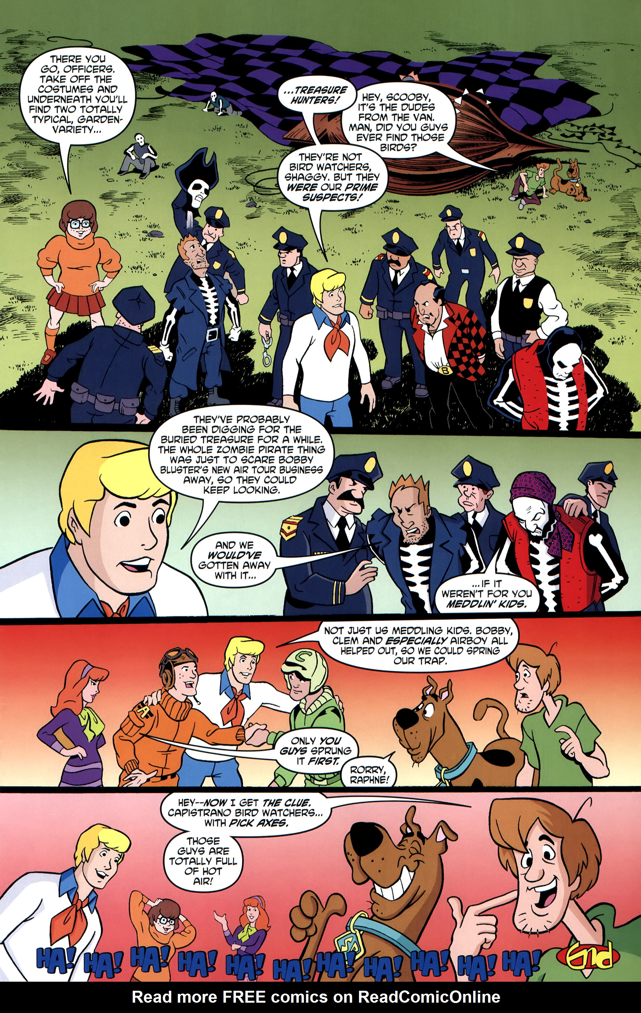 Read online Scooby-Doo: Where Are You? comic -  Issue #35 - 25