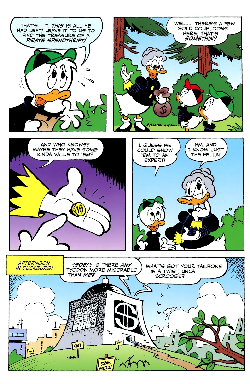 Walt Disney's Comics and Stories issue 730 - Page 37