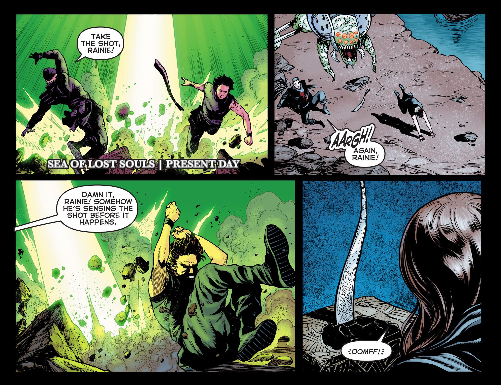 Read online Arrow: The Dark Archer comic -  Issue #12 - 3