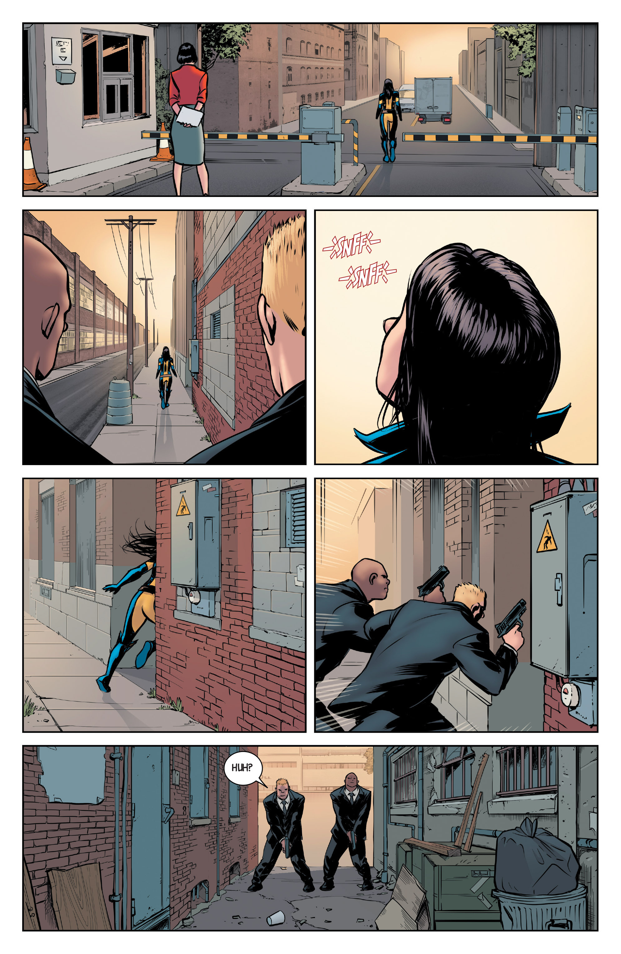 Read online All-New Wolverine (2016) comic -  Issue #2 - 7