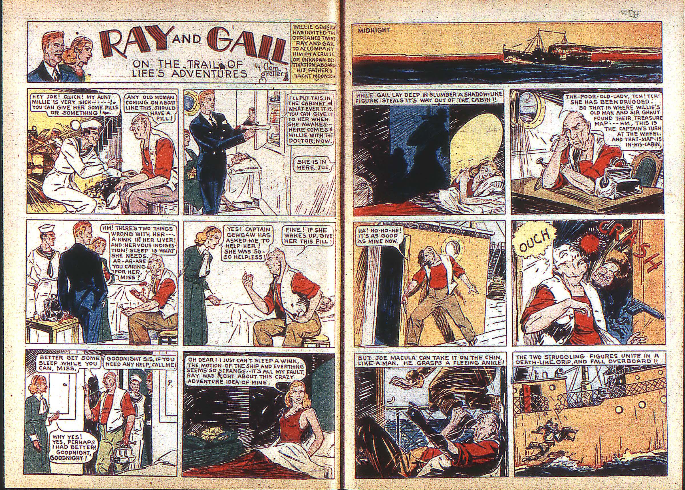 Read online Adventure Comics (1938) comic -  Issue #3 - 8