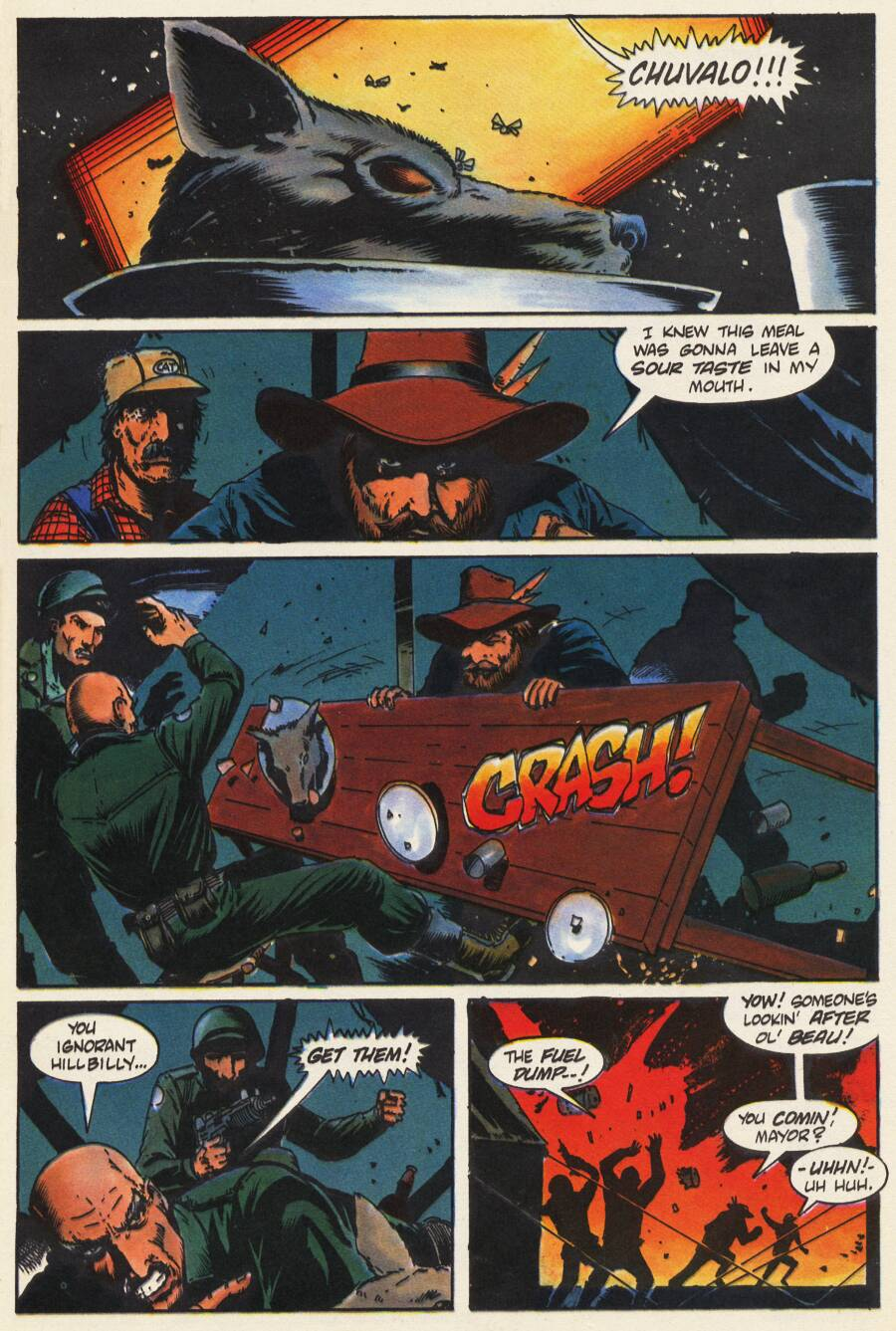 Read online Scout comic -  Issue #9 - 18