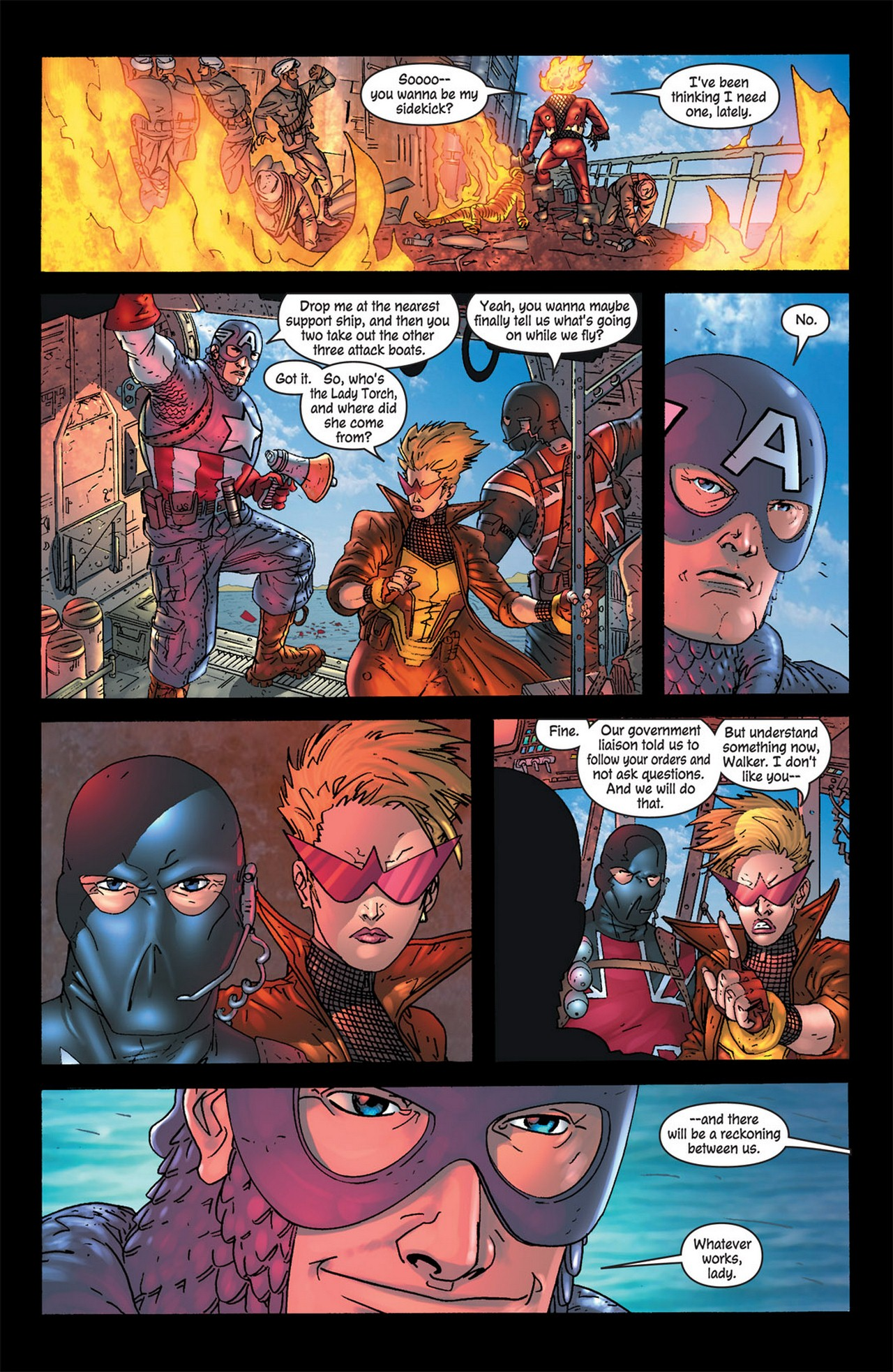 Read online Avengers (1998) comic -  Issue #83 - 14