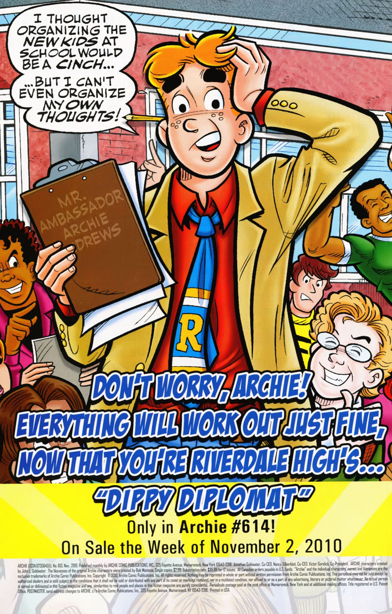Read online Archie (1960) comic -  Issue #613 - 34