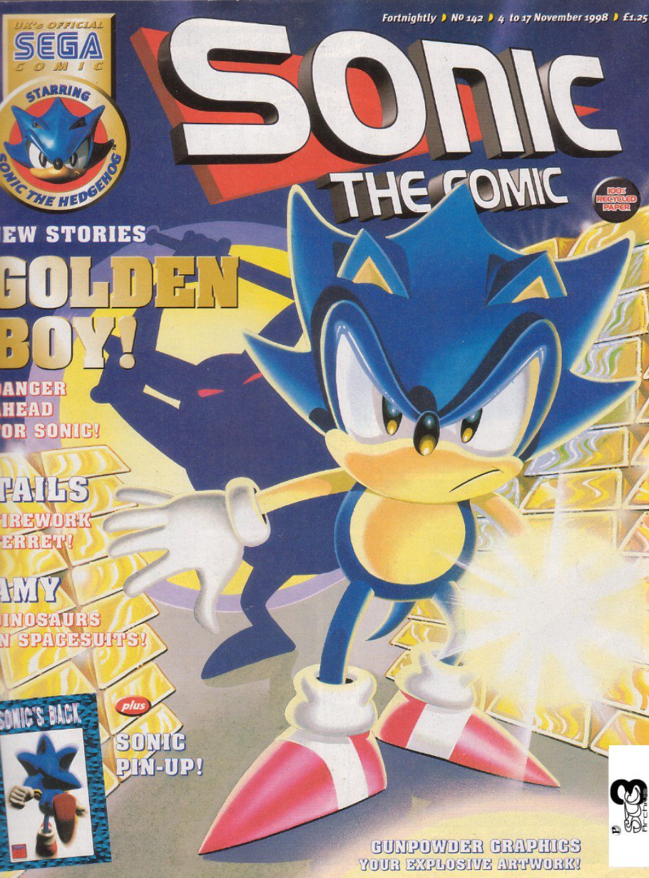 Read online Sonic the Comic comic -  Issue #142 - 1