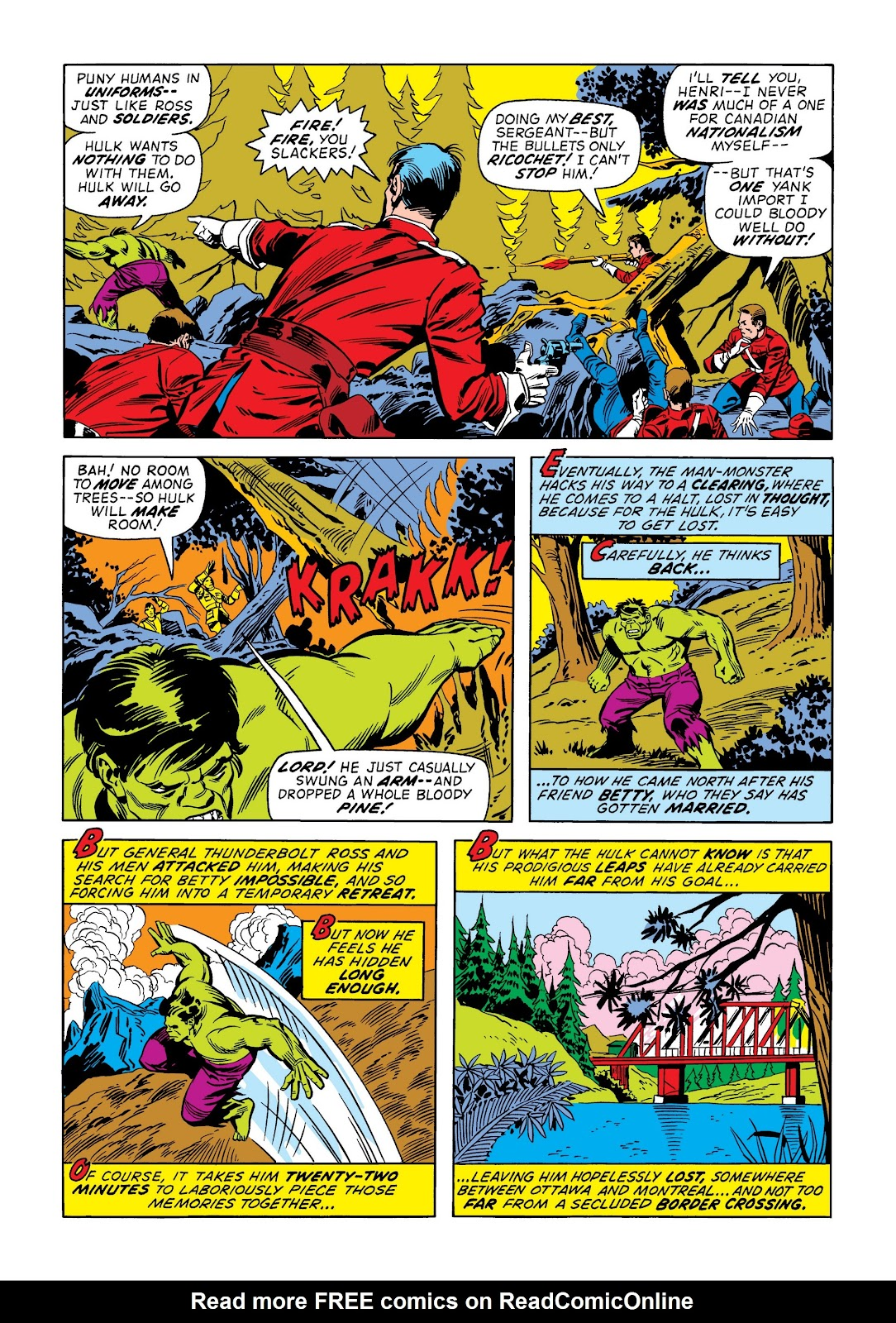 Read online Marvel Masterworks: The Incredible Hulk comic -  Issue # TPB 9 (Part 1) - 97