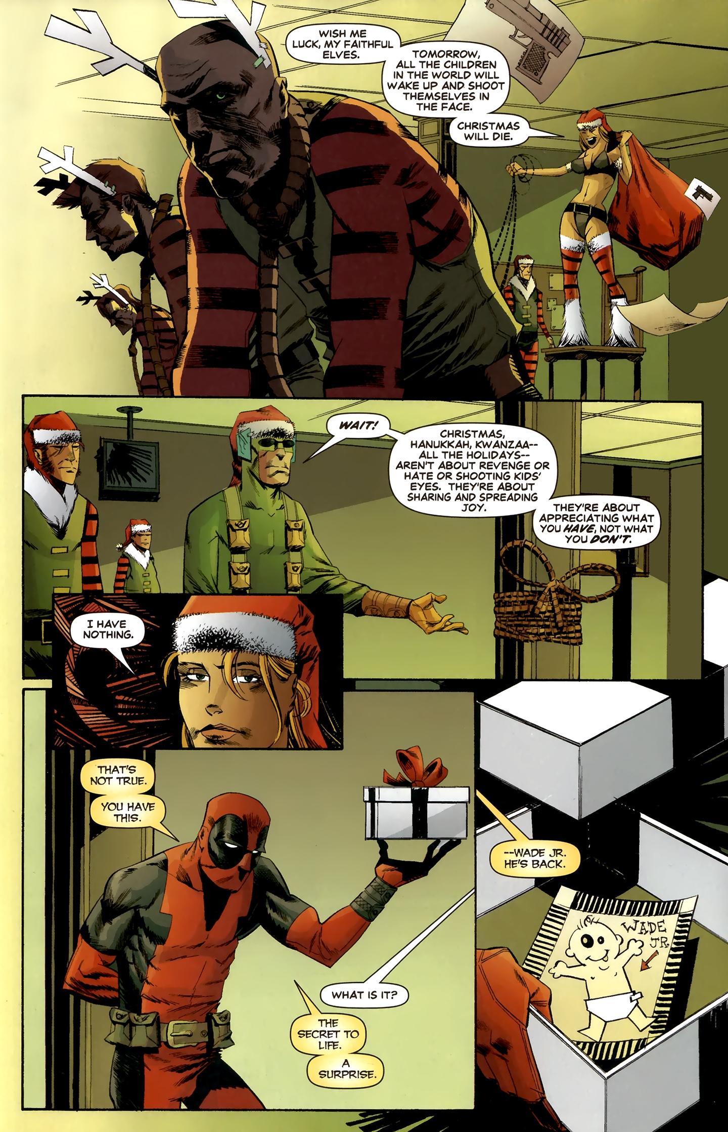 Read online Deadpool MAX X-Mas Special comic -  Issue # Full - 30