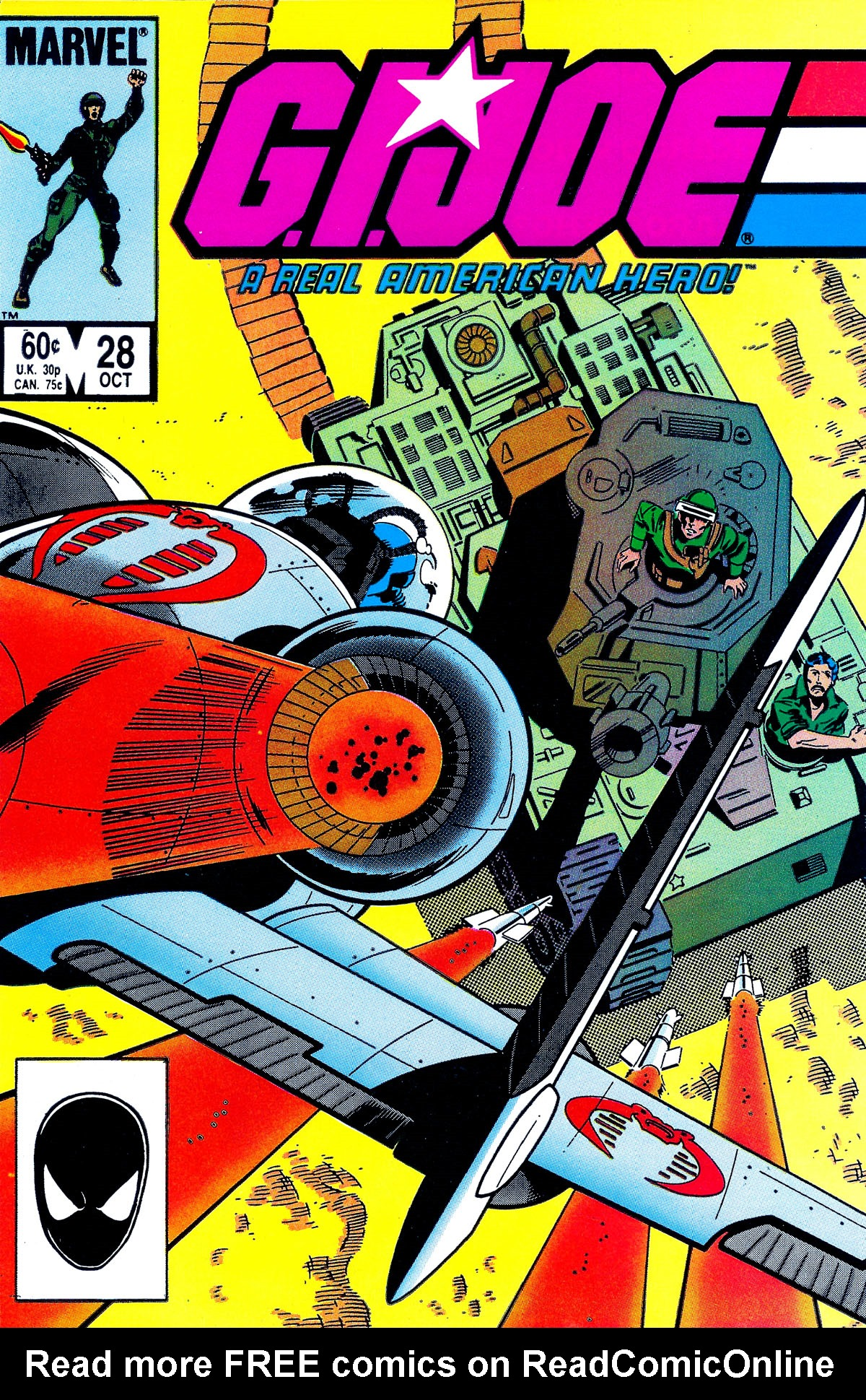 G.I. Joe: A Real American Hero 28 Page 1