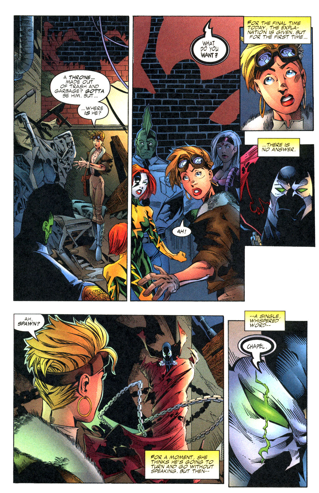 Read online Shattered Image comic -  Issue #2 - 21