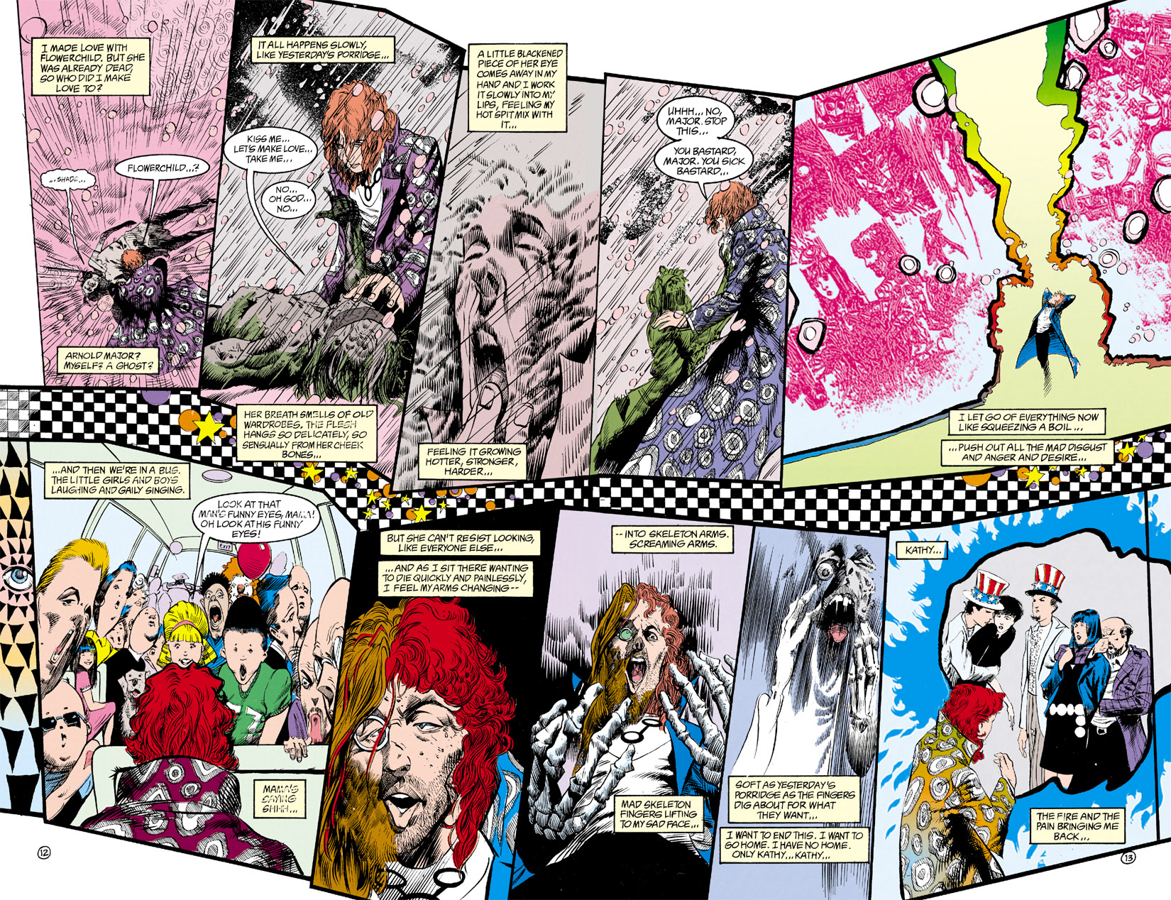 Read online Shade, the Changing Man comic -  Issue #9 - 10