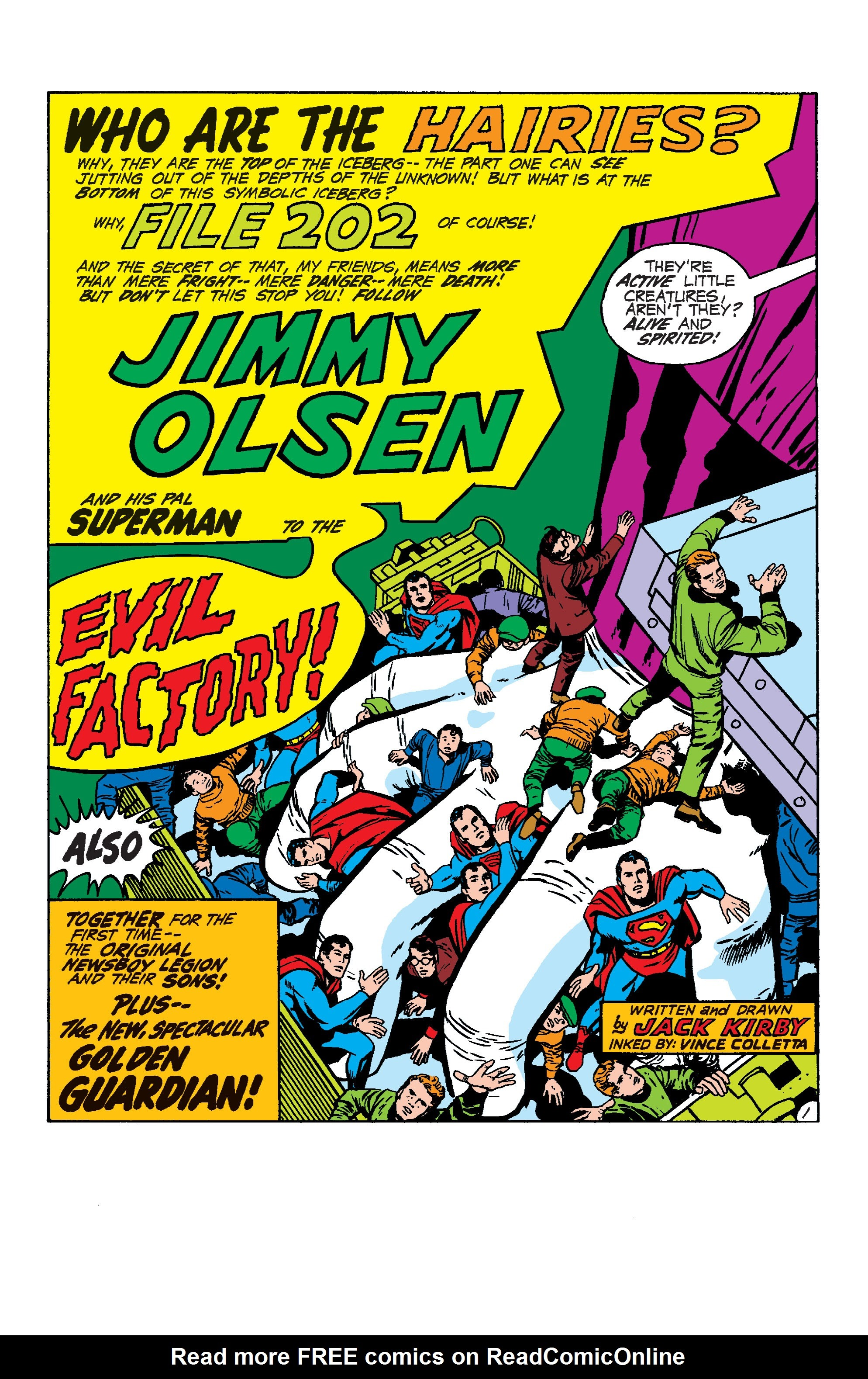 Comic Supermans Pal, Jimmy Olsen by Jack Kirby issue 4