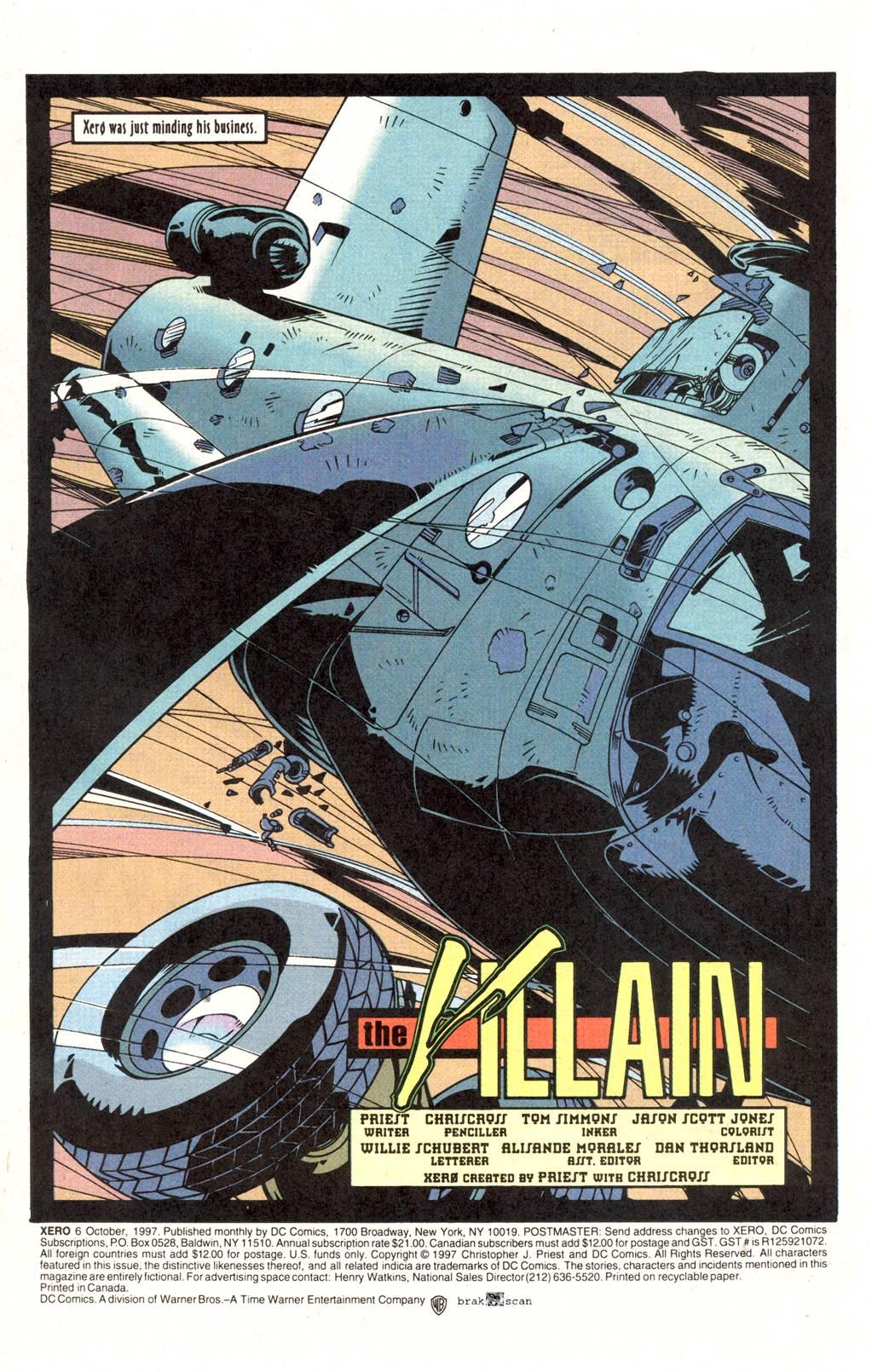 Read online Xero comic -  Issue #6 - 3