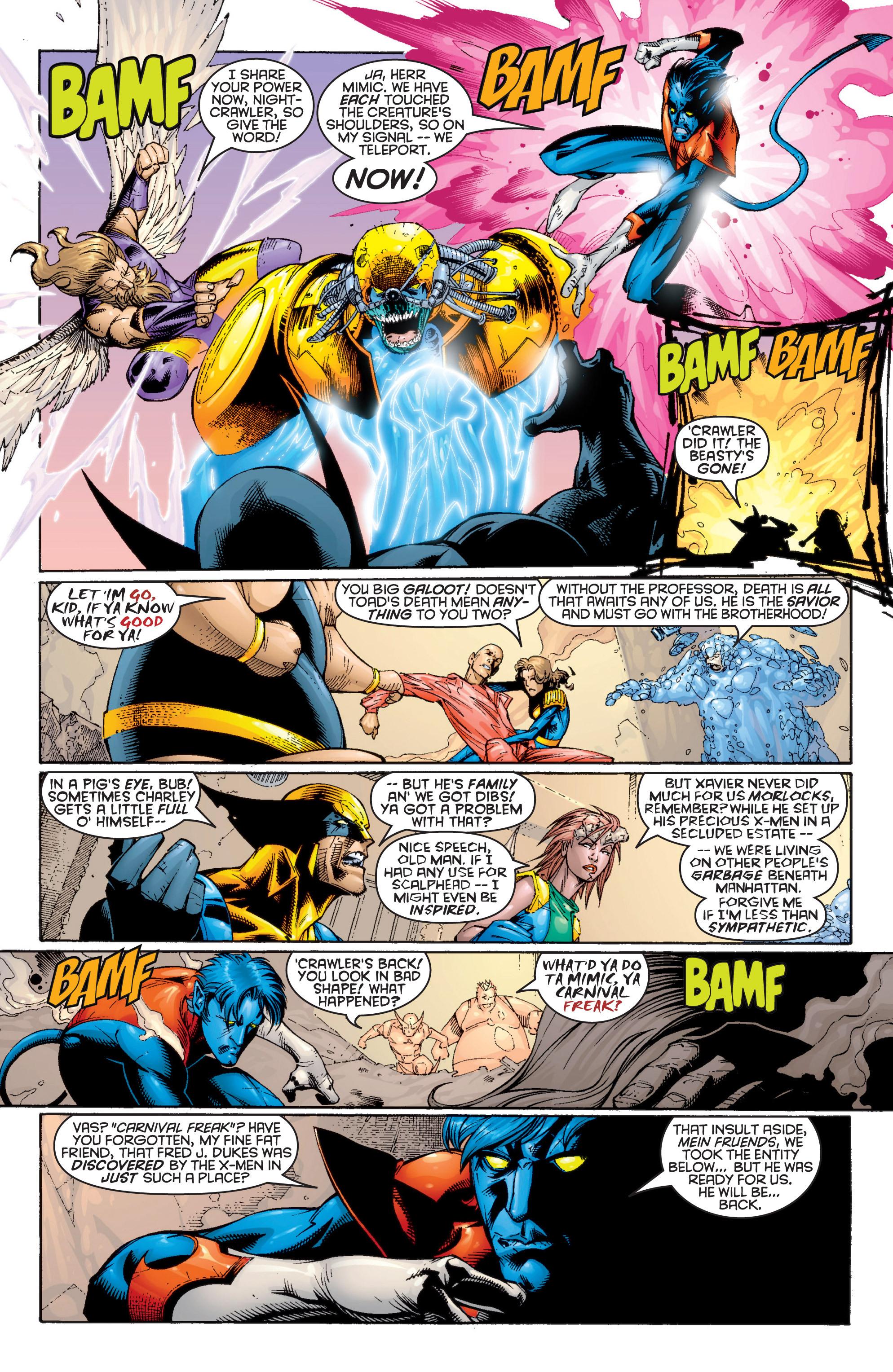 Read online Uncanny X-Men (1963) comic -  Issue #364 - 11