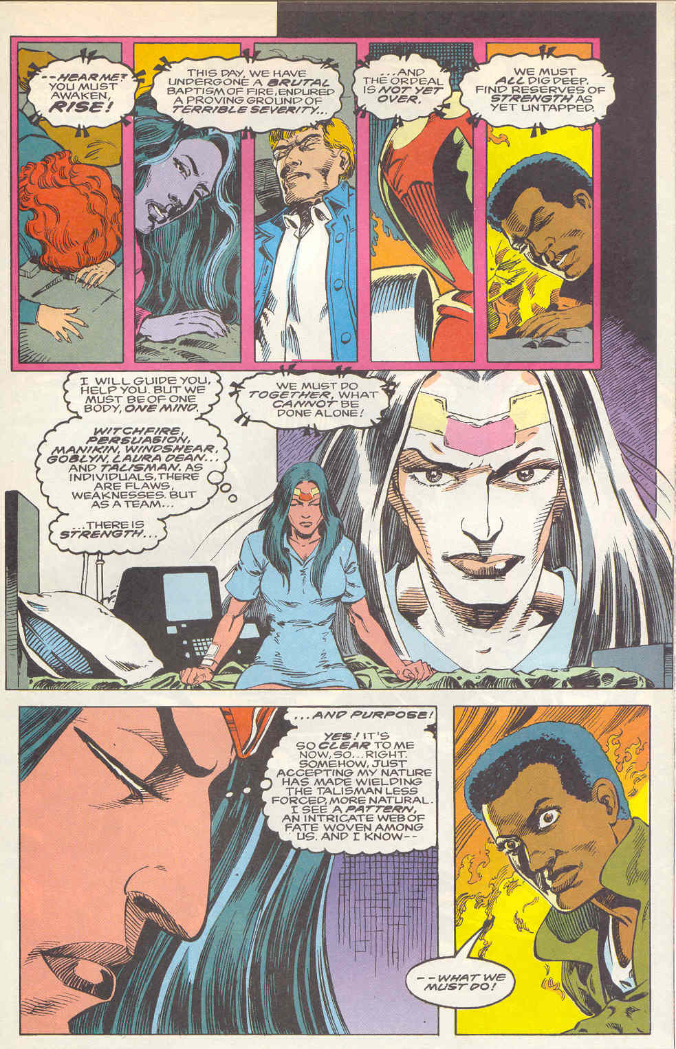 Read online Alpha Flight (1983) comic -  Issue #112 - 19