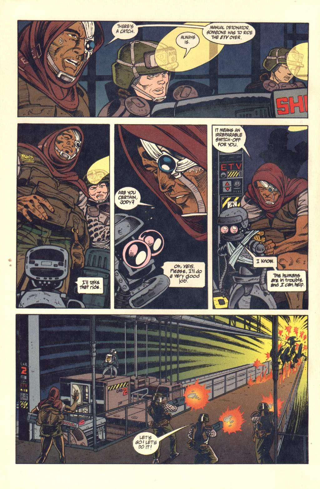 Read online Aliens: Colonial Marines comic -  Issue #7 - 17