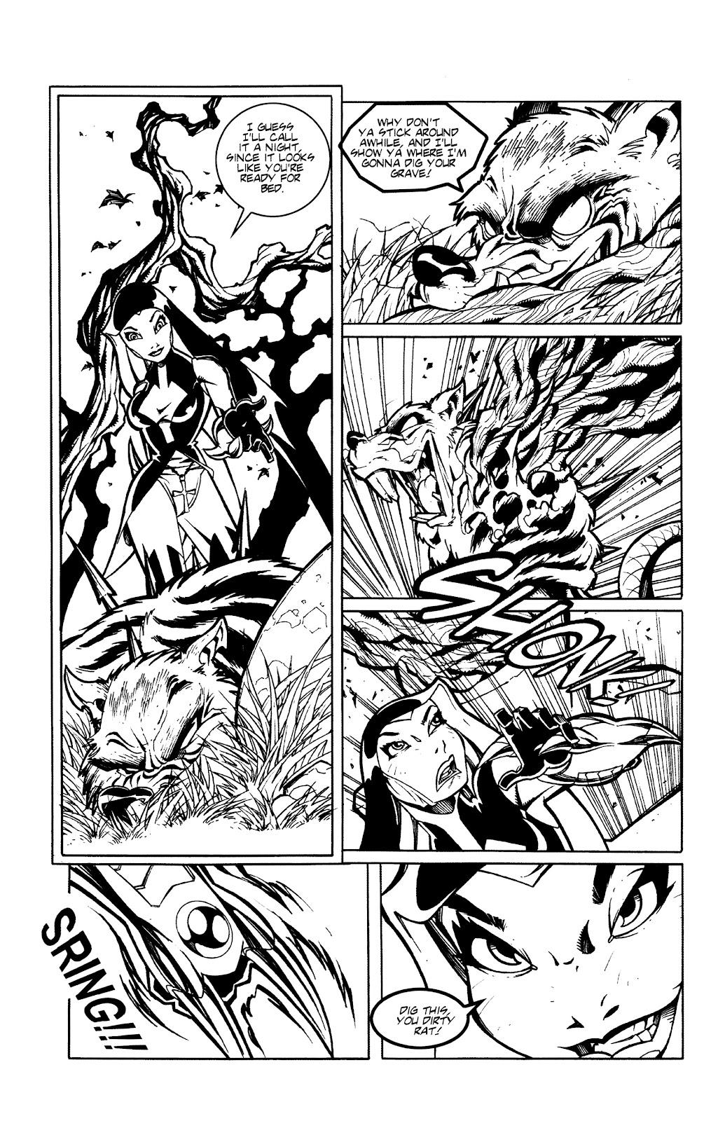 Warrior Nun Areala:  Dangerous Game Issue #3 #3 - English 5
