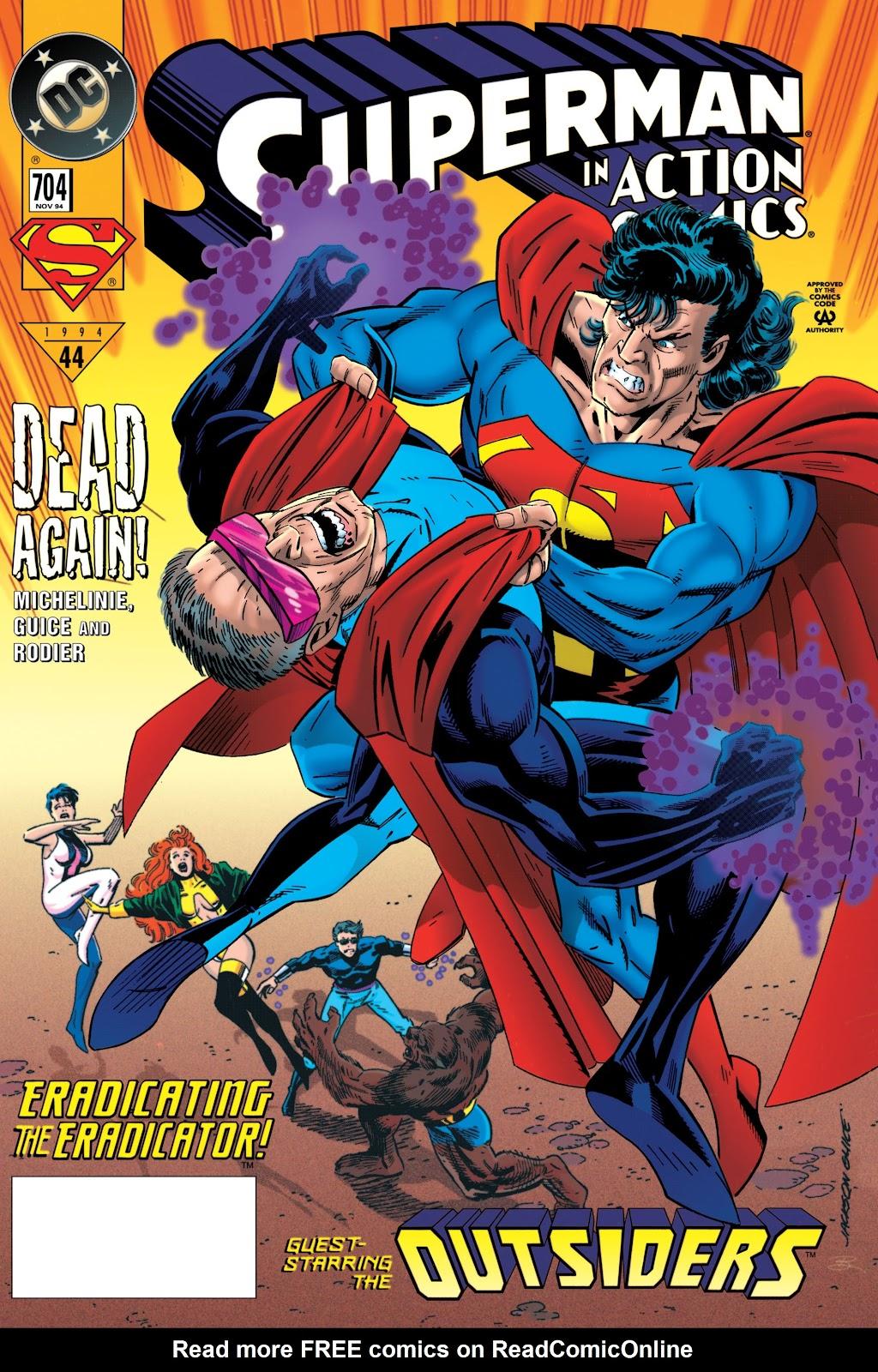 Action Comics (1938) 704 Page 1