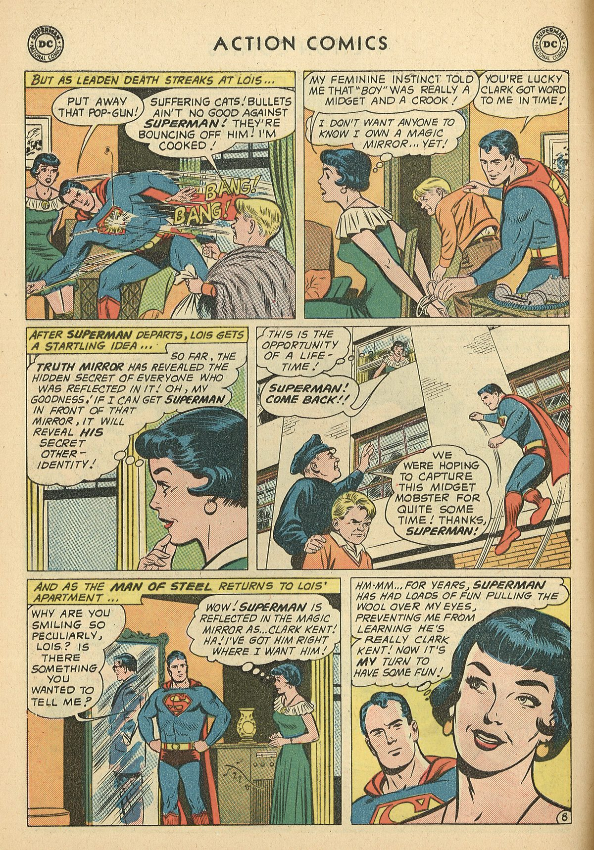 Read online Action Comics (1938) comic -  Issue #269 - 10