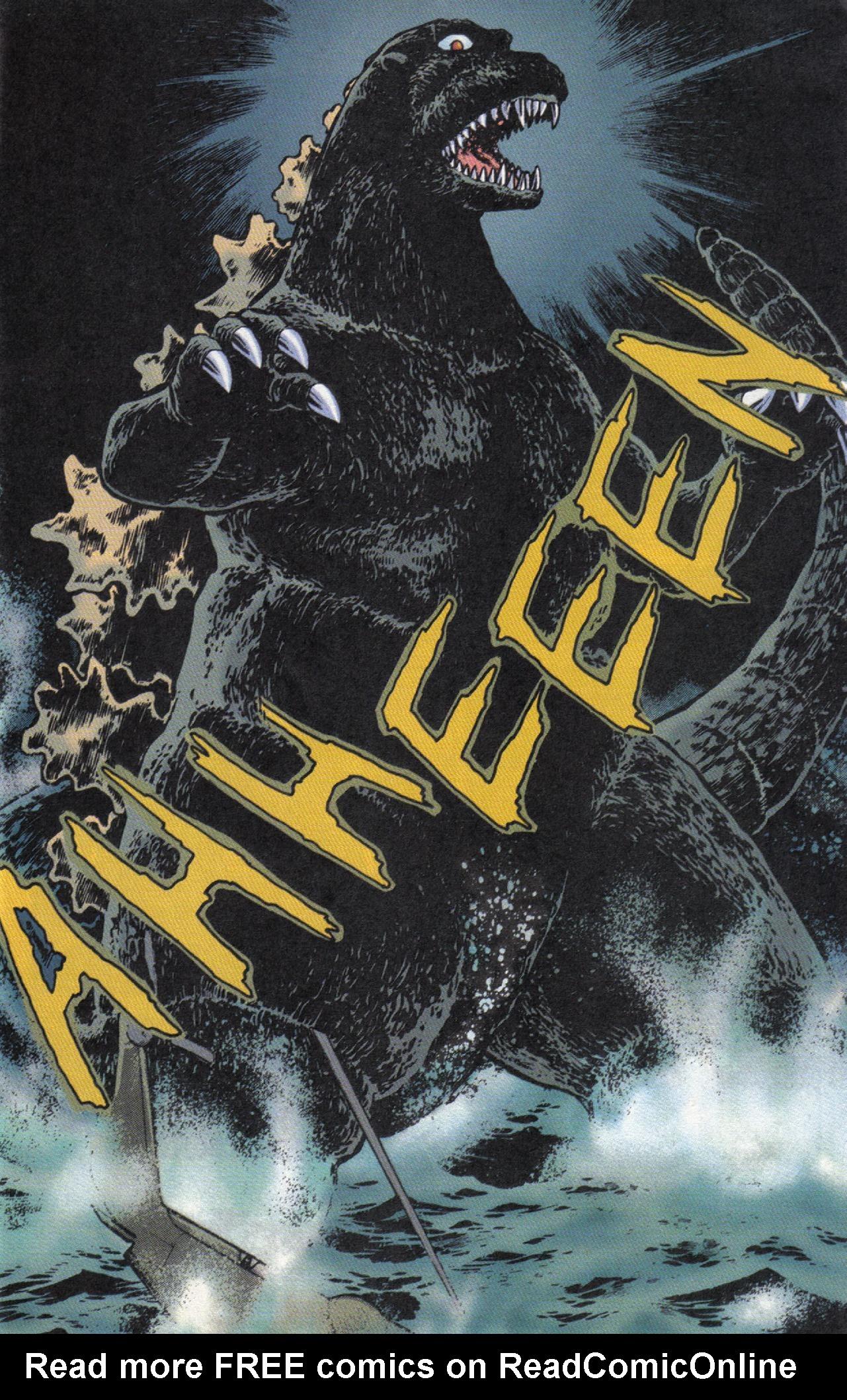 Read online Dark Horse Classics: Terror of Godzilla comic -  Issue #3 - 16