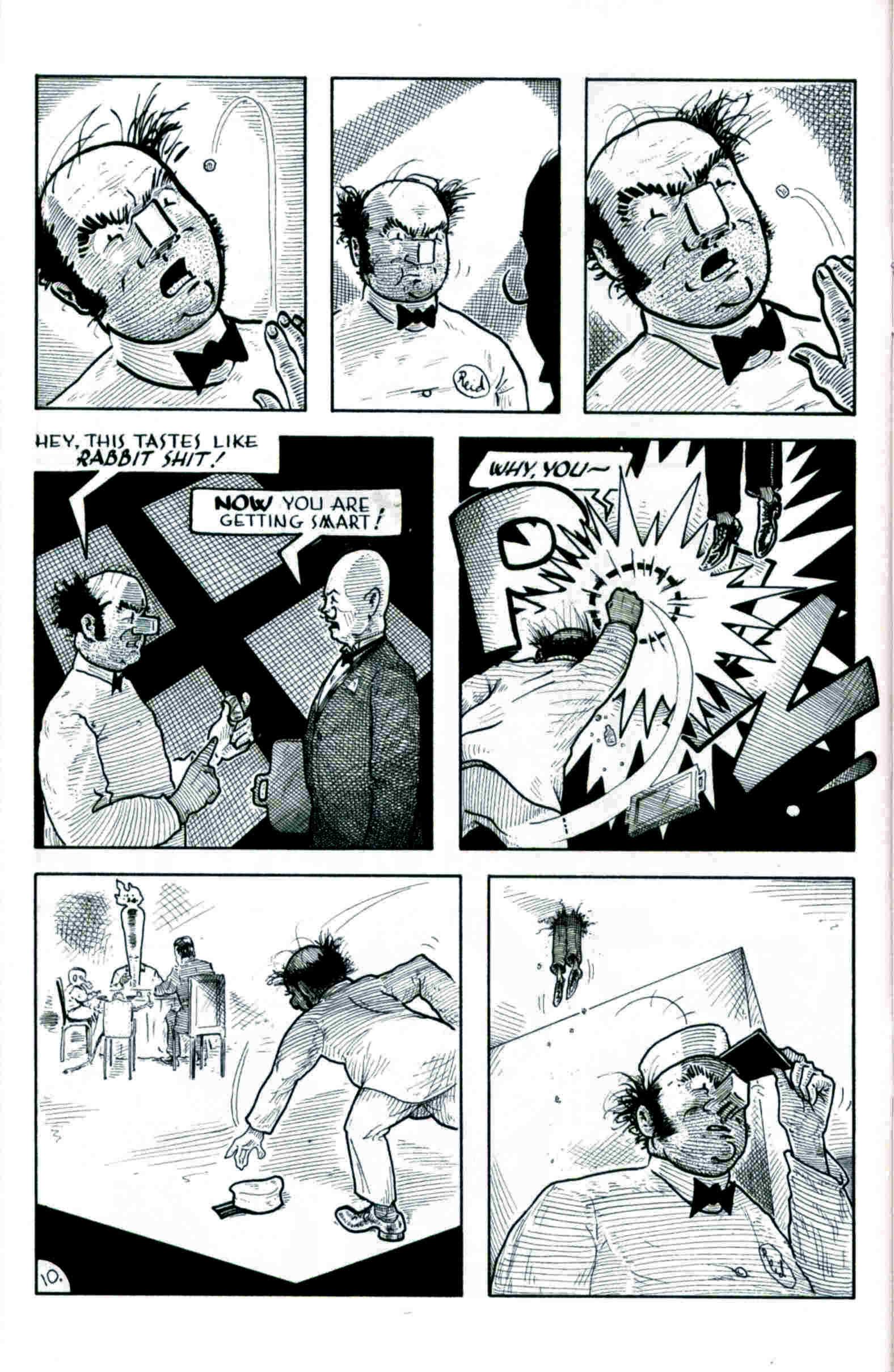 Read online Flaming Carrot & Reid Fleming, World's Toughest Milkman comic -  Issue # Full - 10