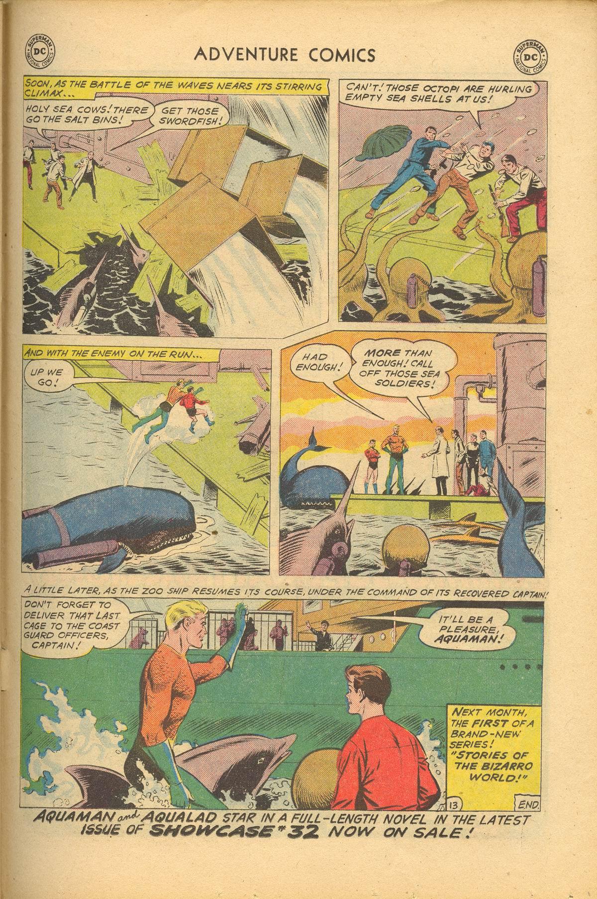 Read online Adventure Comics (1938) comic -  Issue #284 - 31