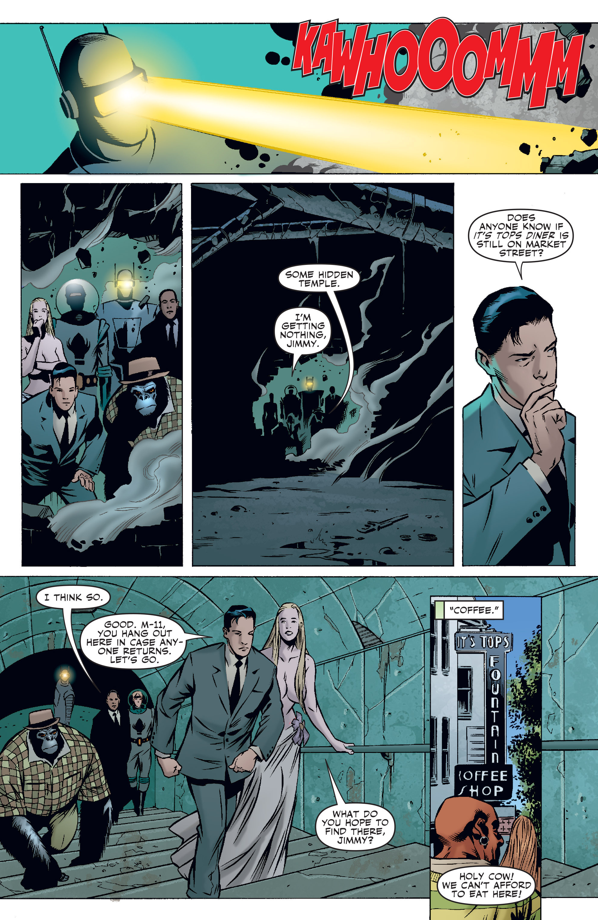 Read online Agents Of Atlas (2006) comic -  Issue #3 - 12