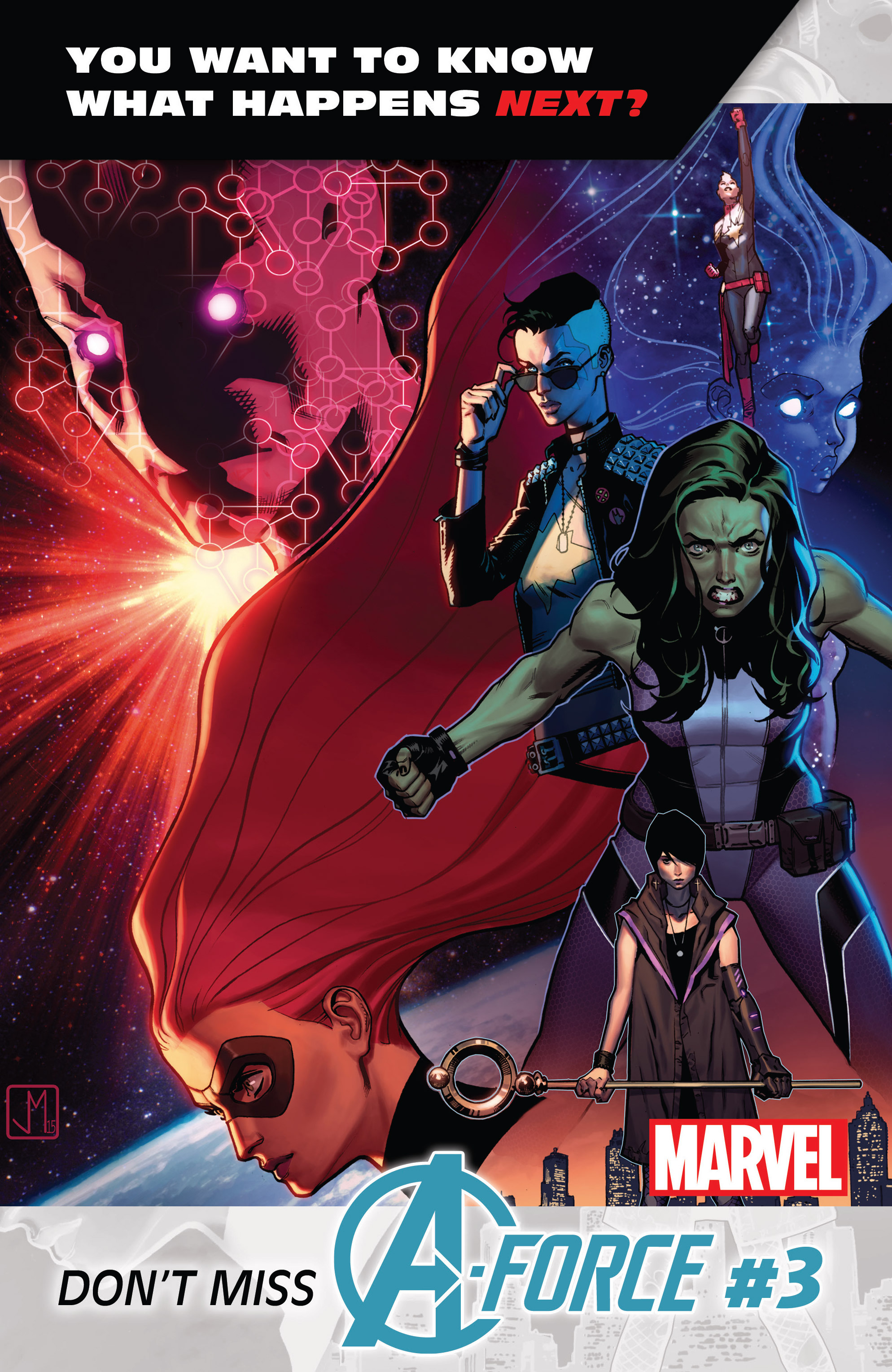 Read online A-Force (2016) comic -  Issue #2 - 24