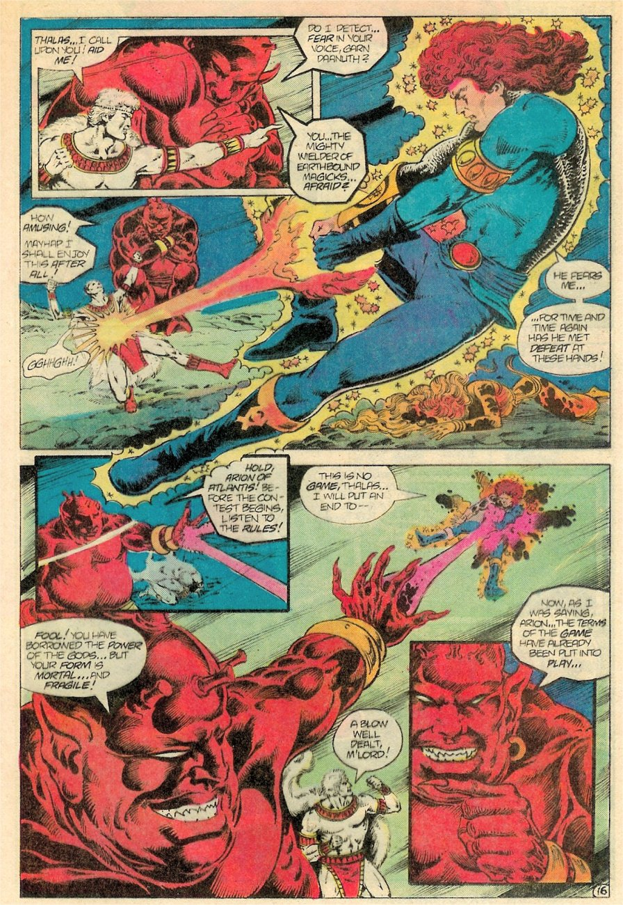 Read online Arion, Lord of Atlantis comic -  Issue #19 - 17