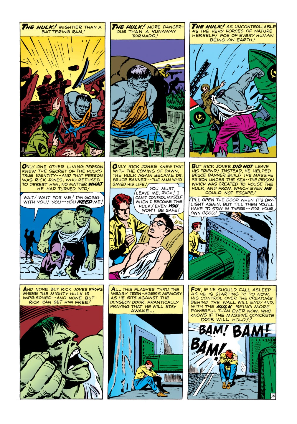 Read online Marvel Masterworks: The Incredible Hulk comic -  Issue # TPB 1 (Part 1) - 67