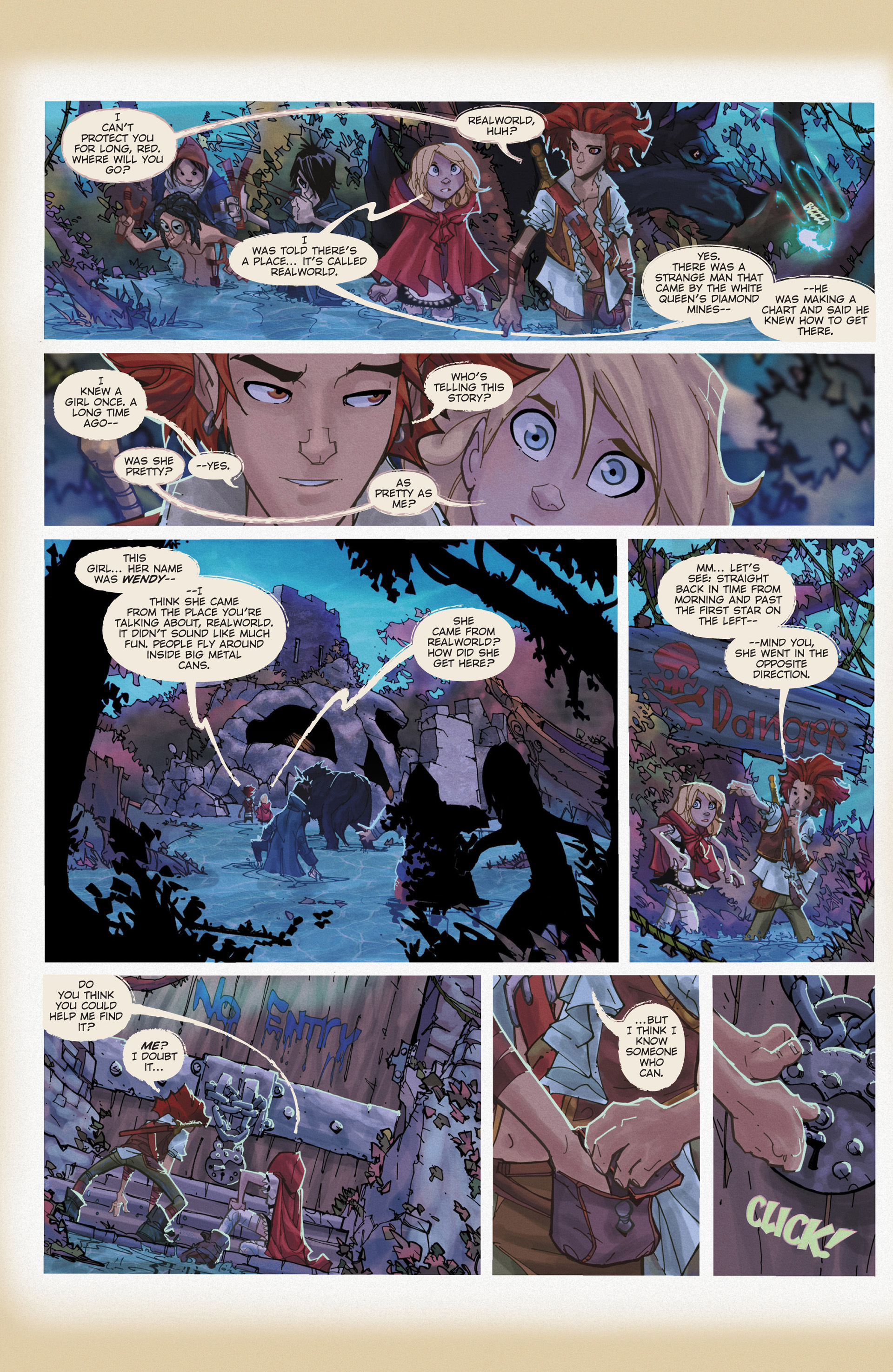 Read online Fairy Quest: Outlaws comic -  Issue #2 - 8