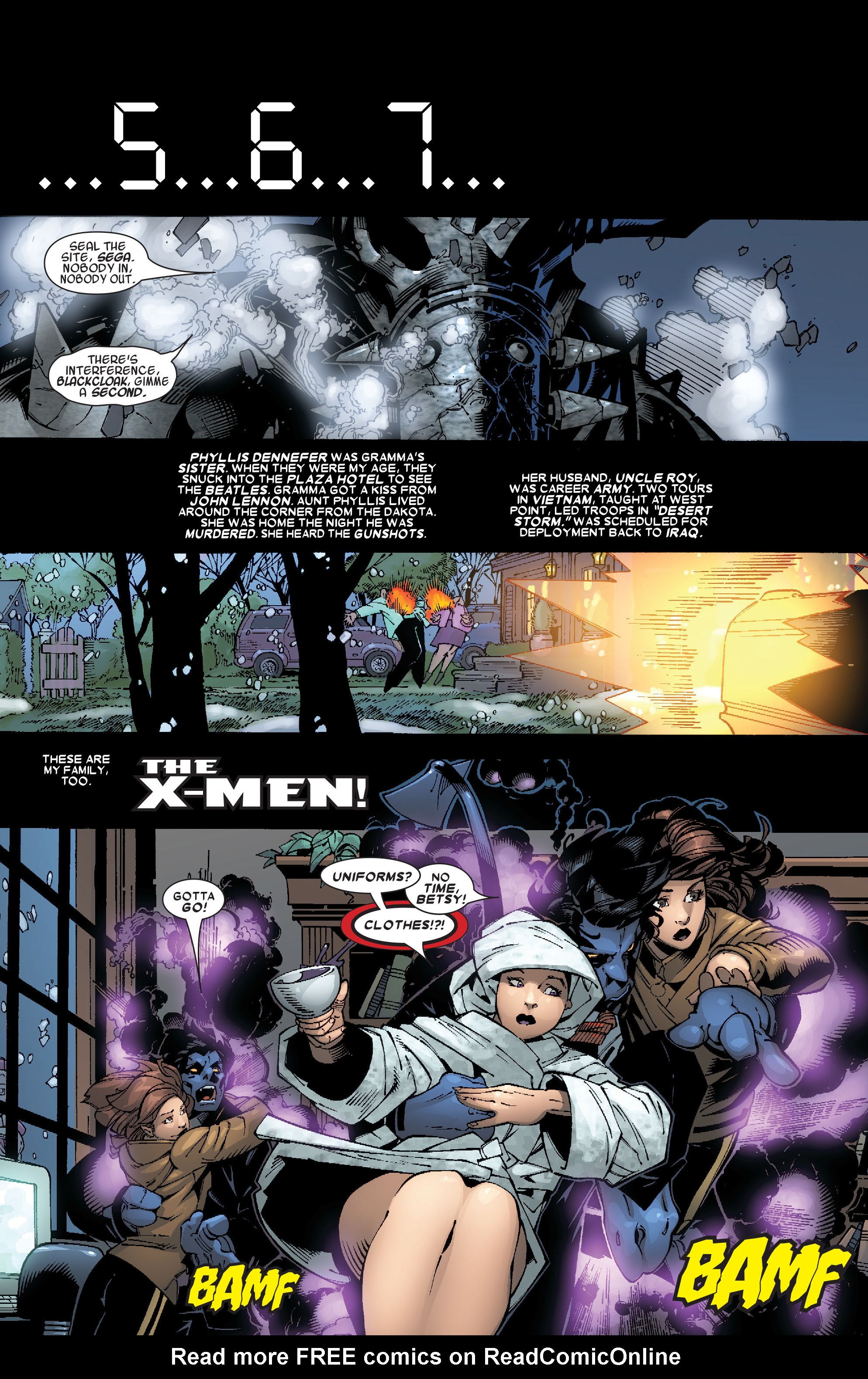 Read online Uncanny X-Men (1963) comic -  Issue #467 - 6