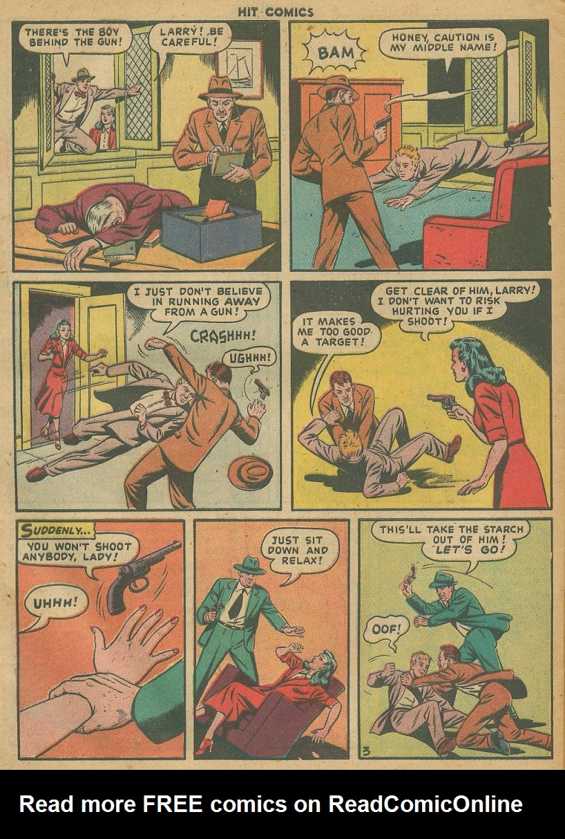 Read online Hit Comics comic -  Issue #61 - 30
