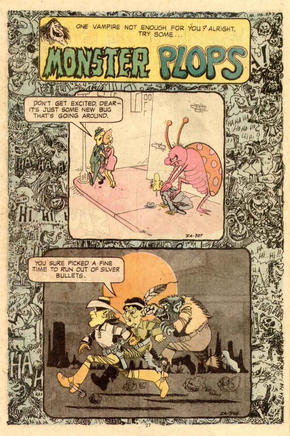 Read online Plop! comic -  Issue #8 - 28