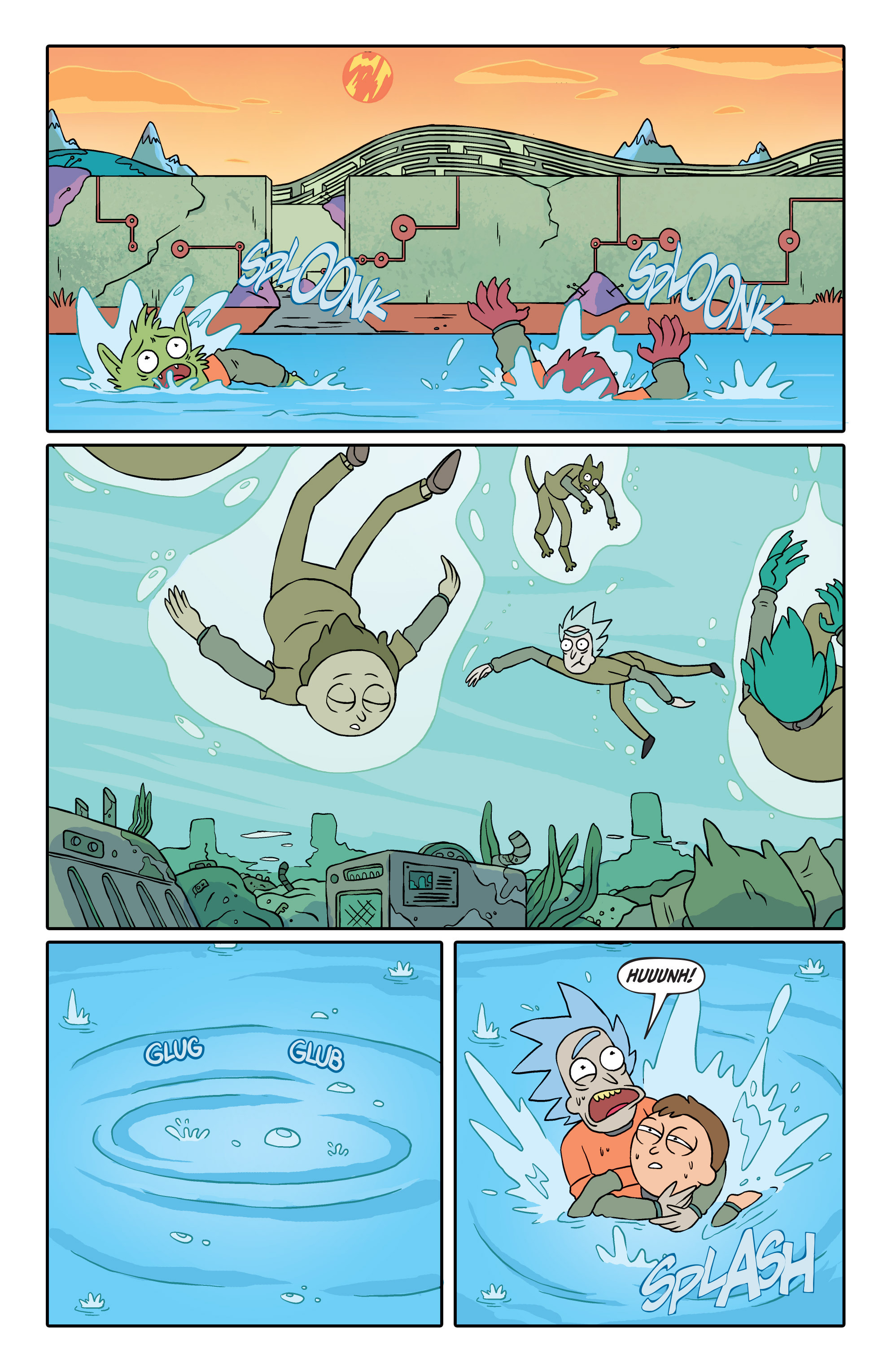 Rick and Morty Issue 2 | Rick and Morty Wiki | FANDOM