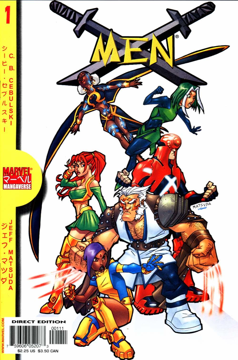 Marvel Mangaverse: X-Men Full Page 1