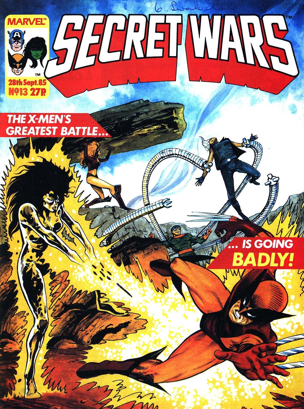 Secret Wars (1985) issue 13 - Page 1