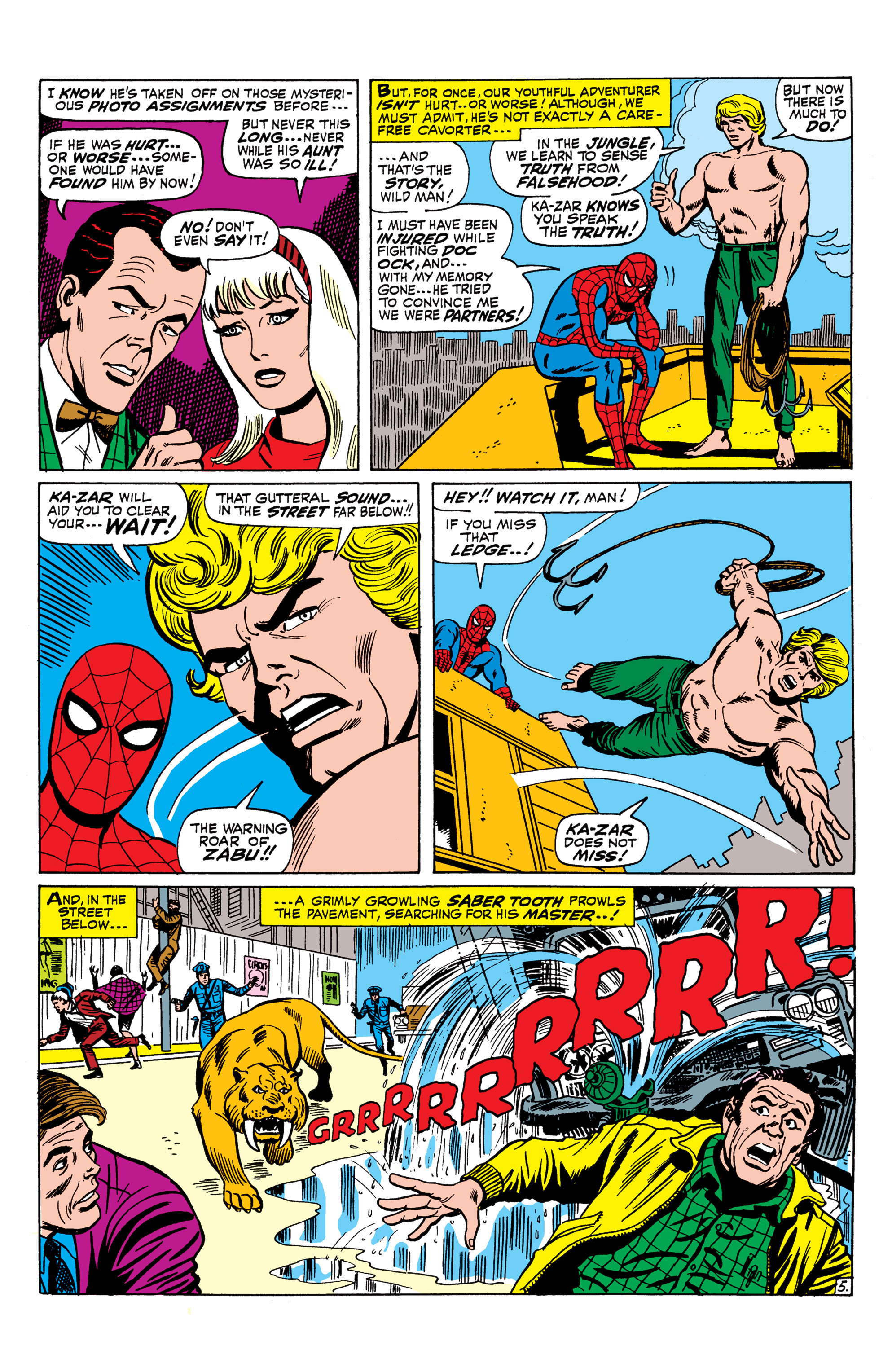 The Amazing Spider-Man (1963) 58 Page 5
