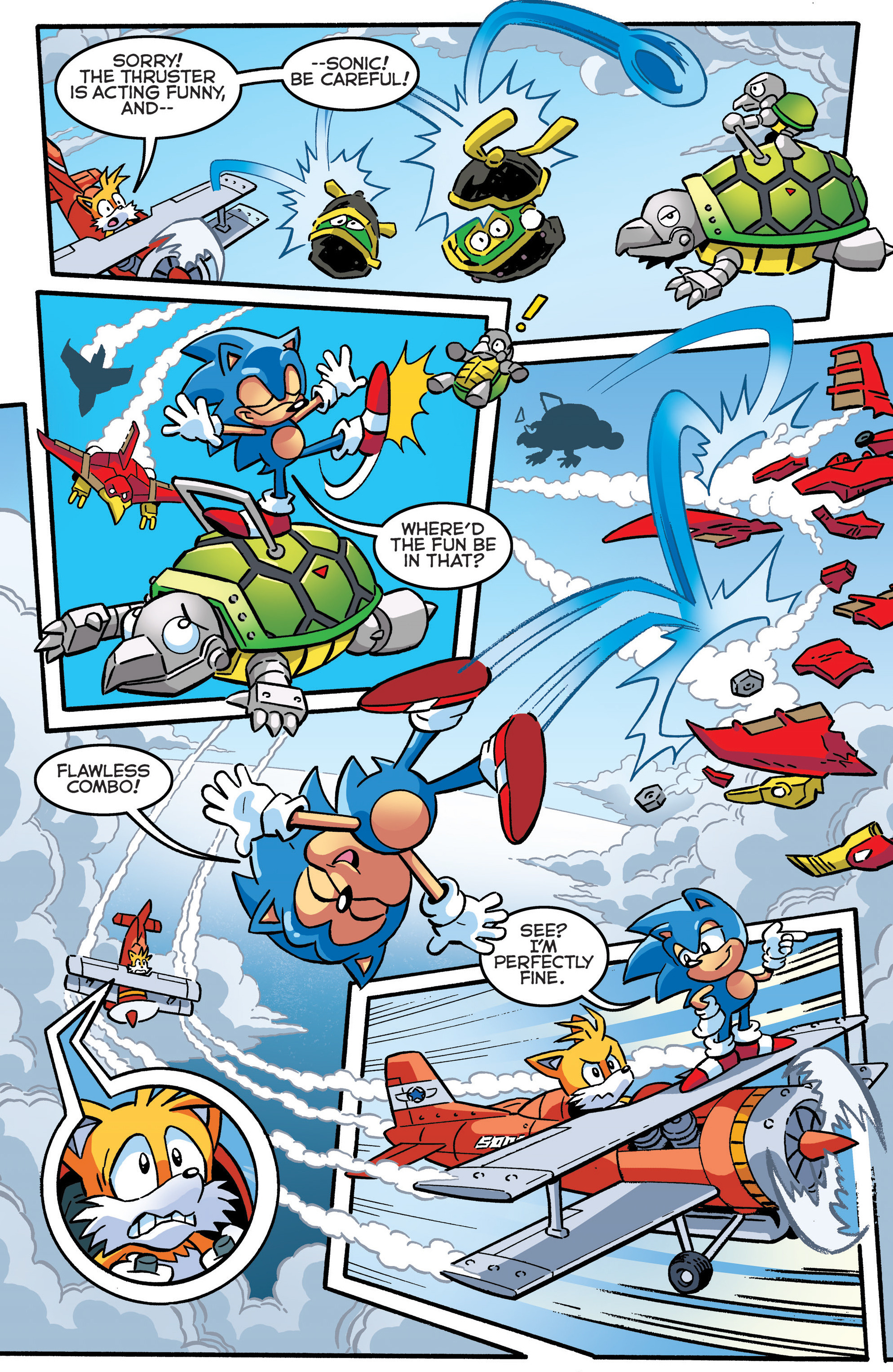 Read online Sonic The Hedgehog comic -  Issue #289 - 4