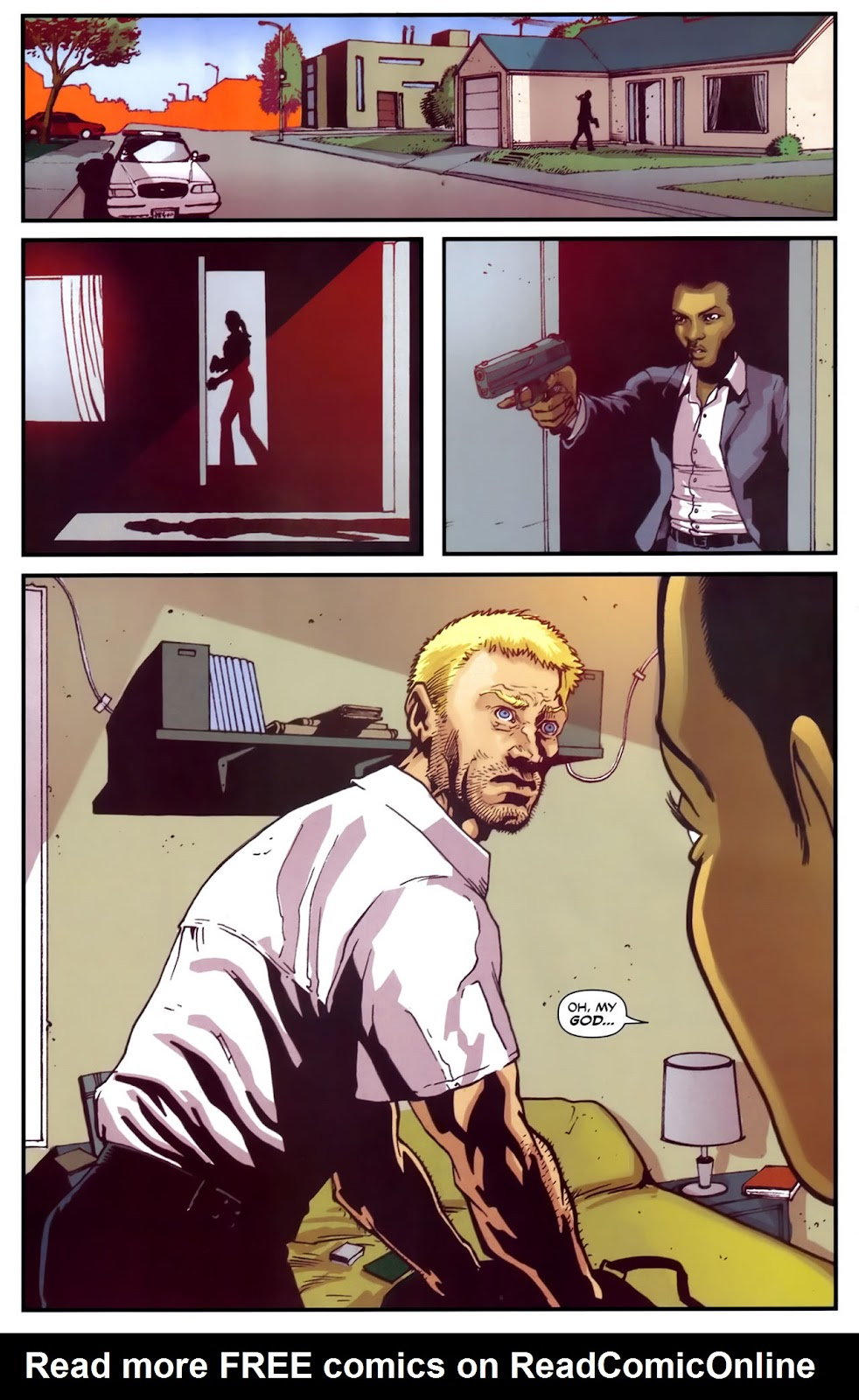 Read online Lazarus (2007) comic -  Issue #2 - 10
