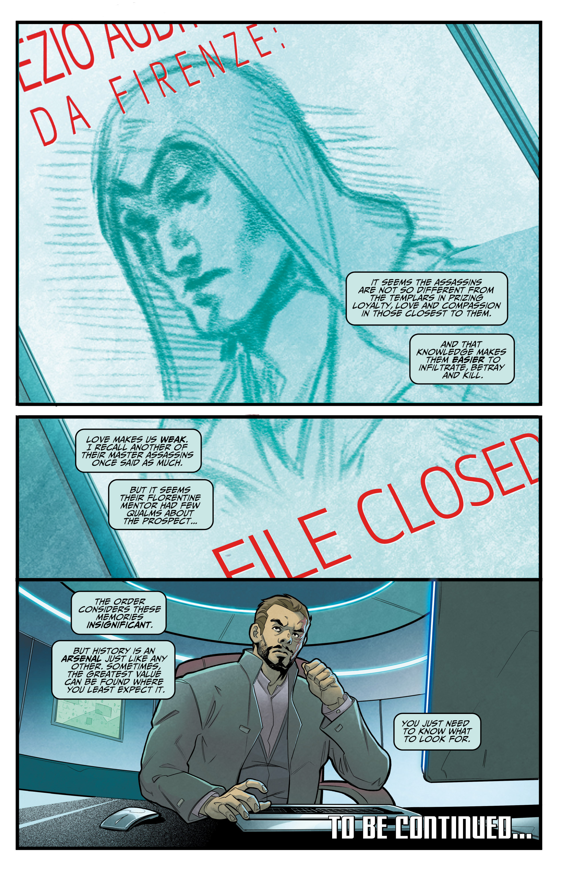 Read online Assassin's Creed: Reflections comic -  Issue #1 - 24