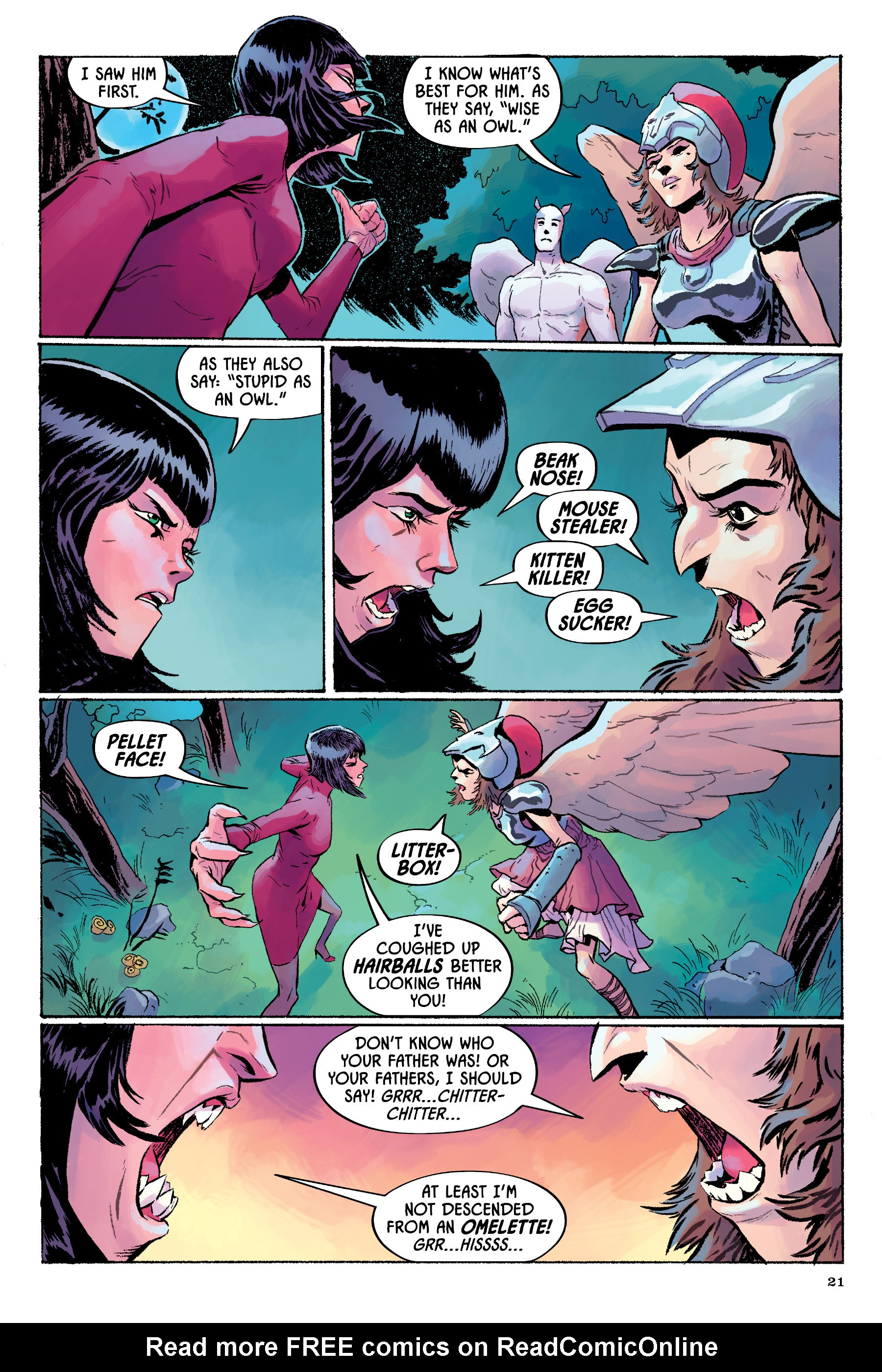 Read online Angel Catbird comic -  Issue # TPB 2 - 22